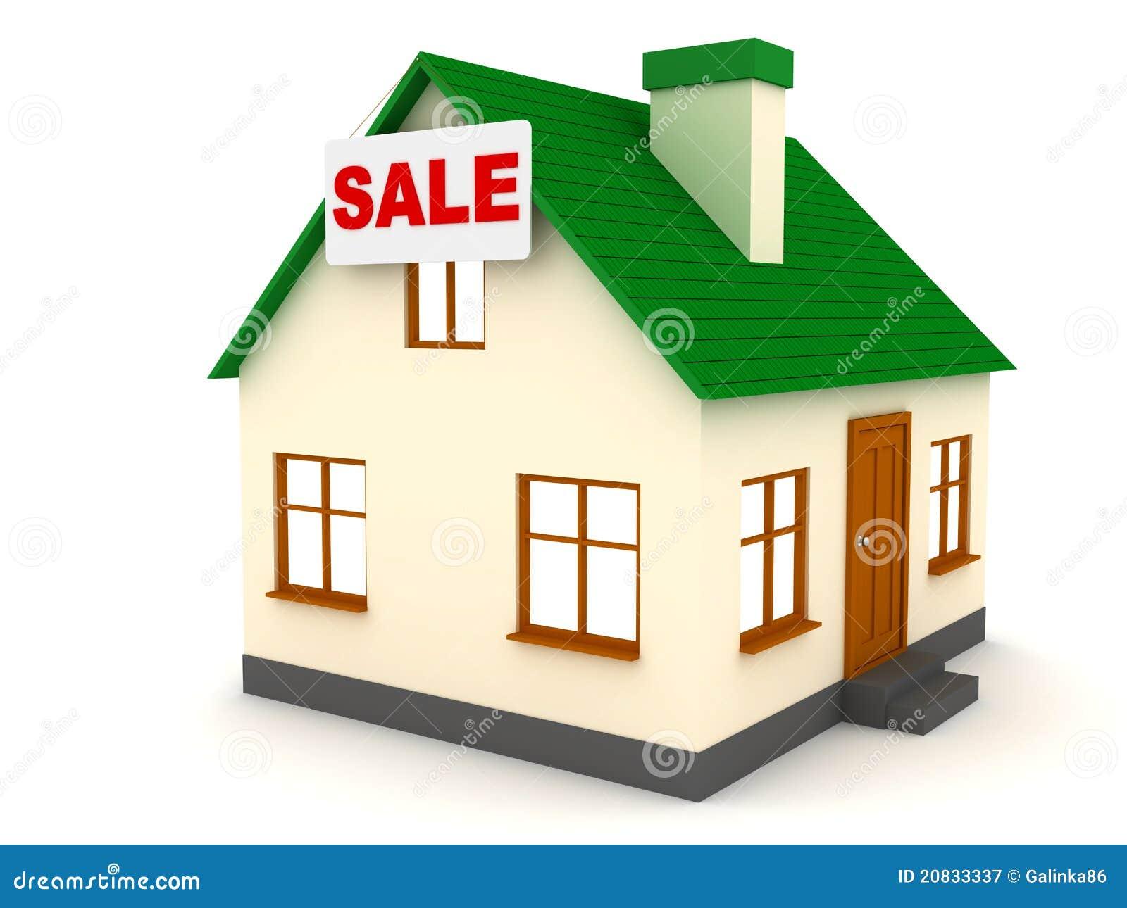 De verkoop van het huis stock illustratie afbeelding bestaande uit verwarmingspijp 20833337 - Huis verkoop ...