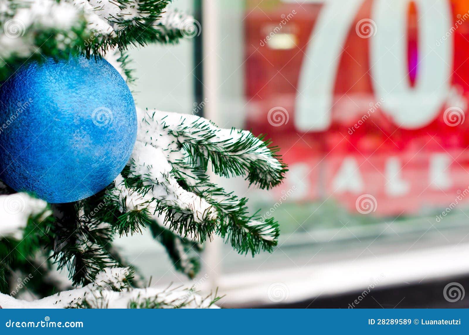 De Verkoop van Kerstmis van de winter