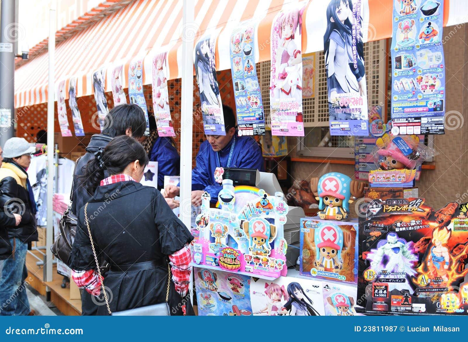 De verkopers van Anime