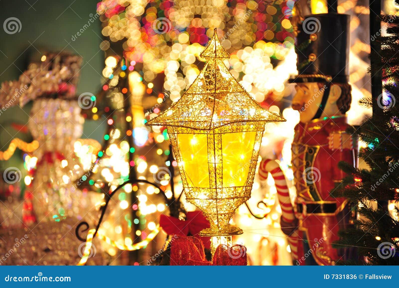 De verlichting van de decoratie