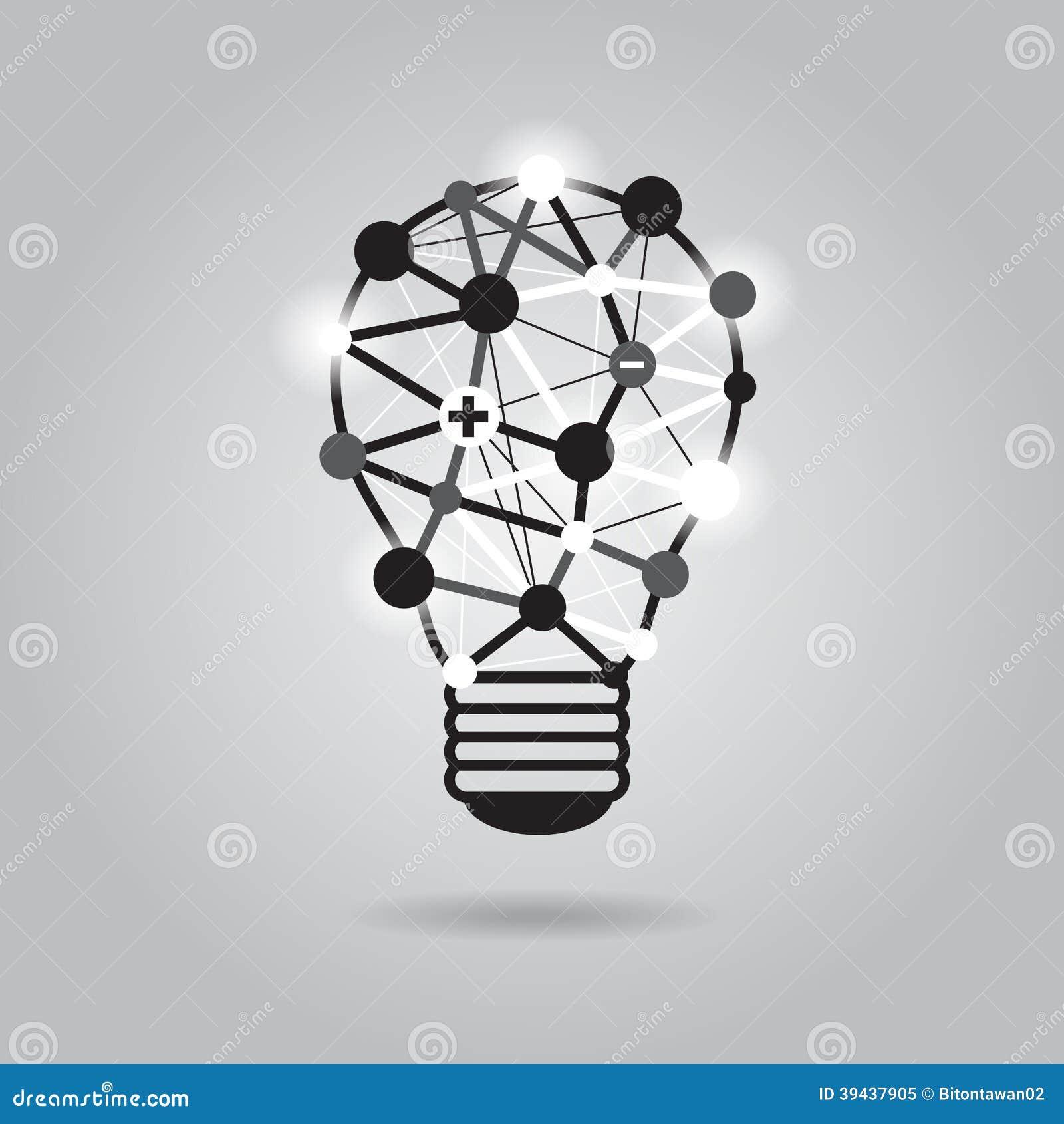 de verlichting van het ideenconcept