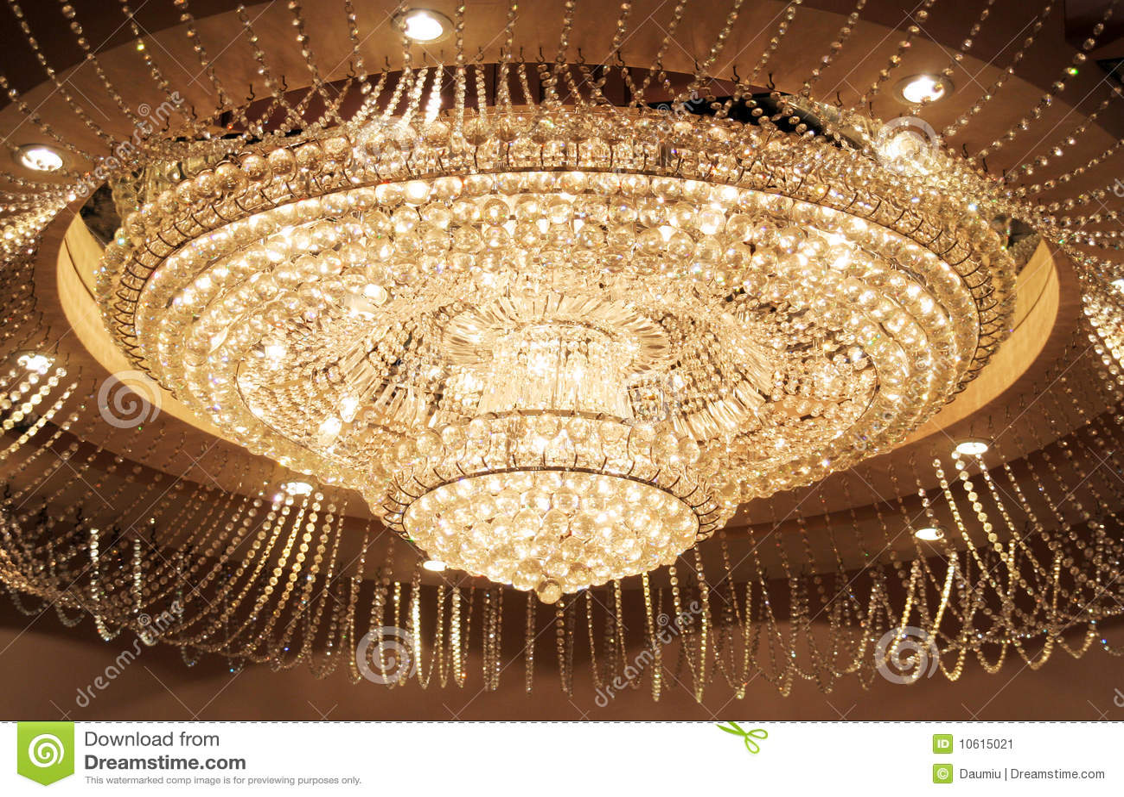 De Verlichting Van Het Kristal Stock Afbeelding - Afbeelding ...