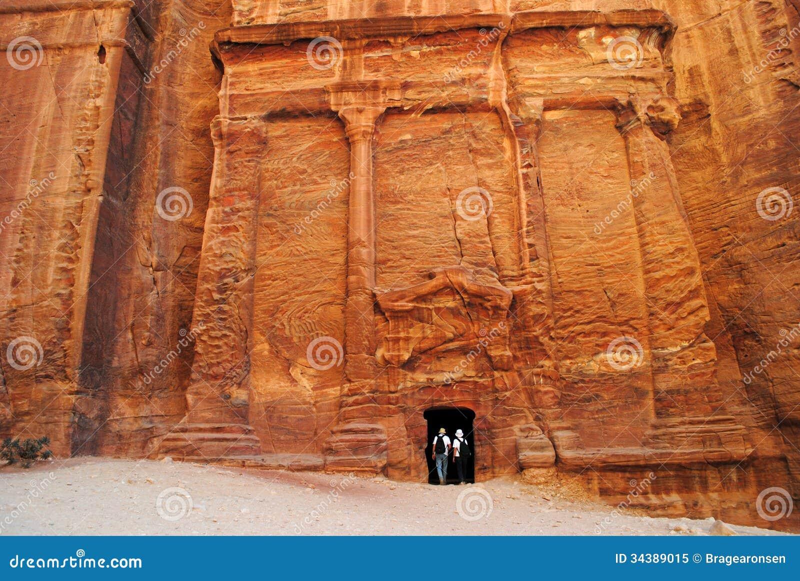 De verloren stad van Petra, Jordanië