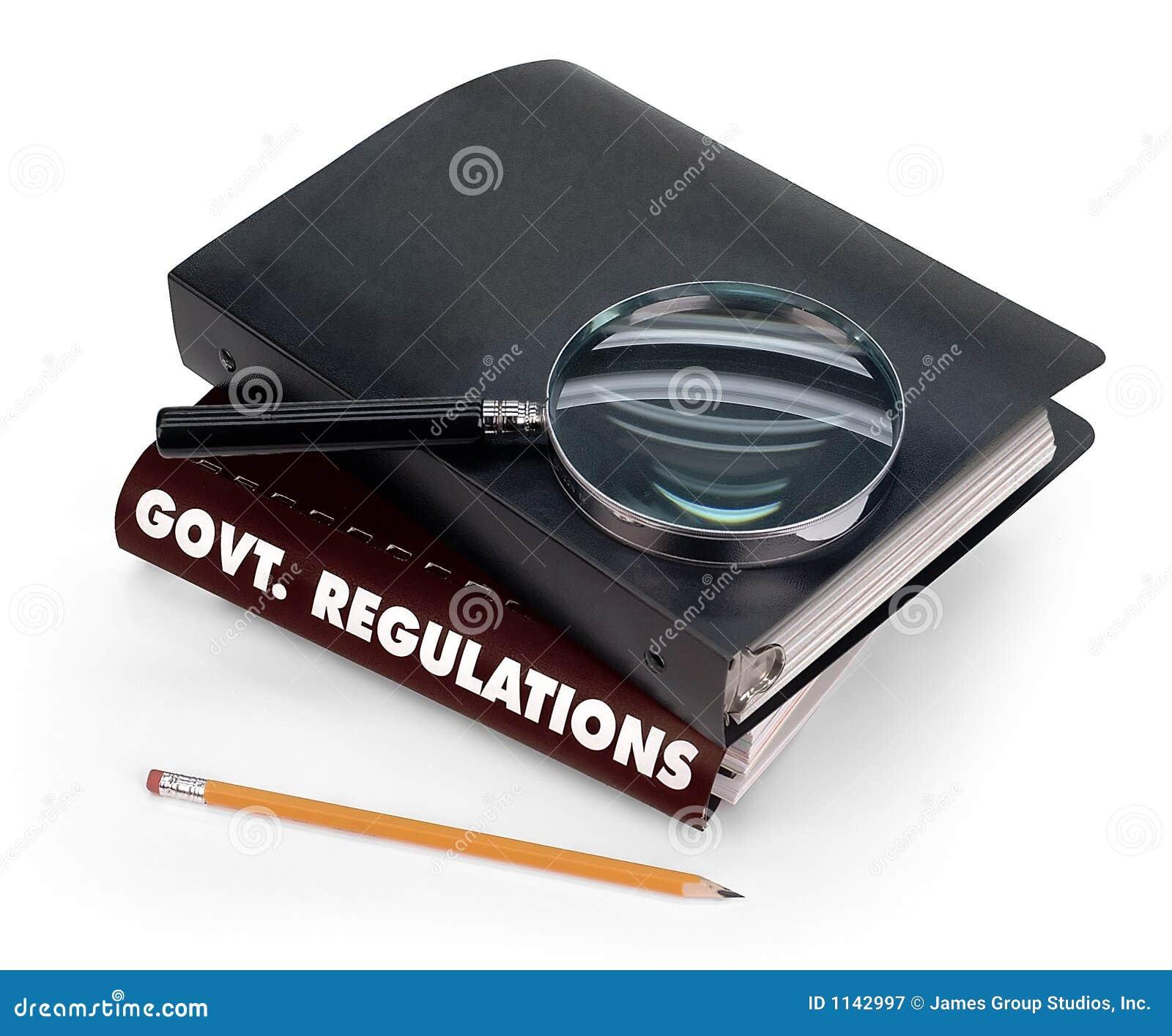 De verordeningen van de overheid