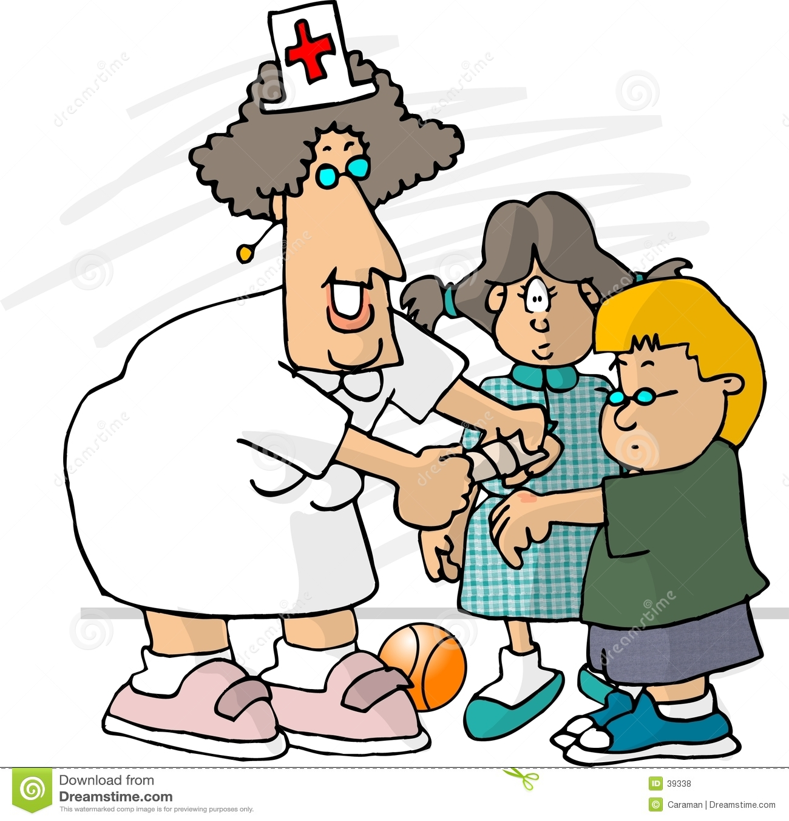 De Verpleegster van de school