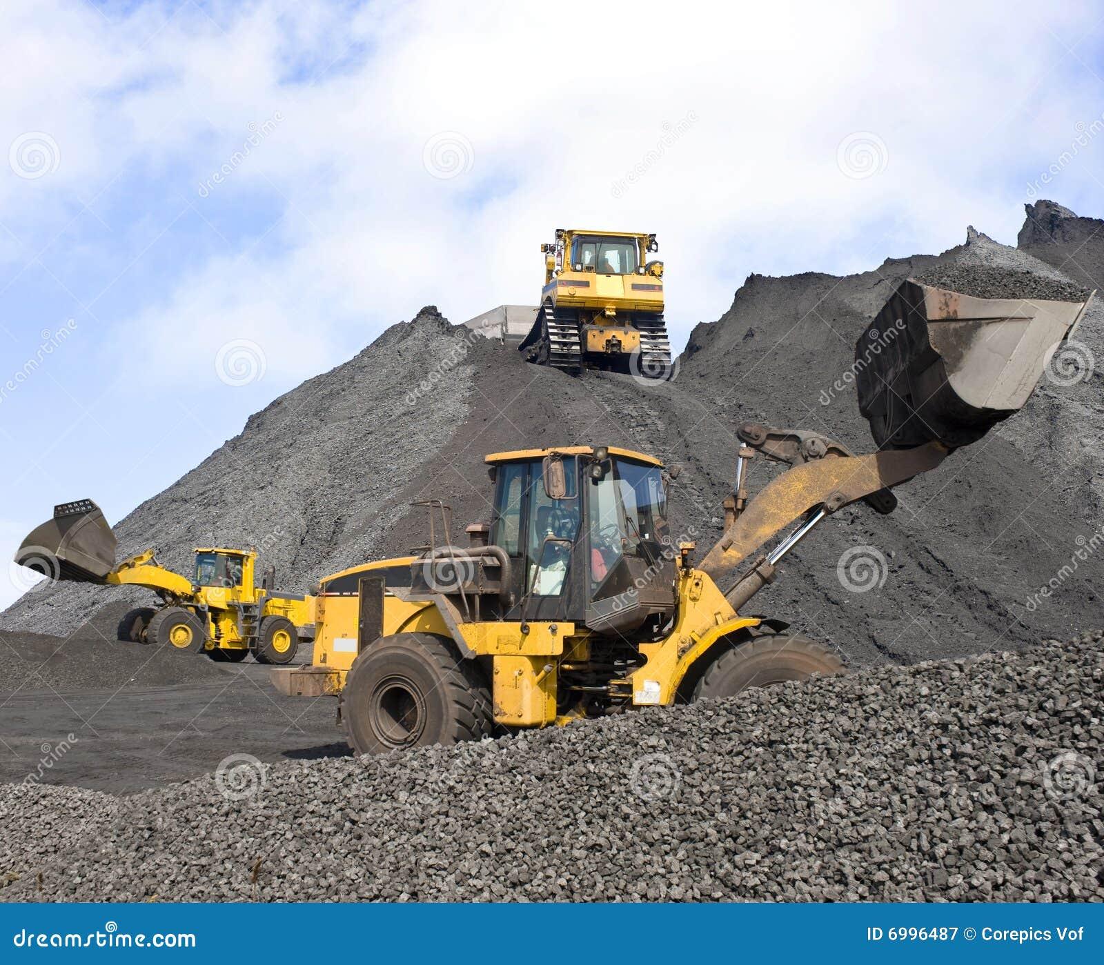 De verrichtingen van de mijnbouw