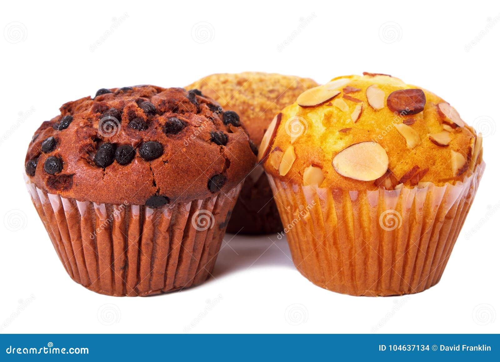 Download De Verse Cakes Van De Muffinkop Isoleerden Witte Achtergrond Stock Foto - Afbeelding bestaande uit cupcake, close: 104637134