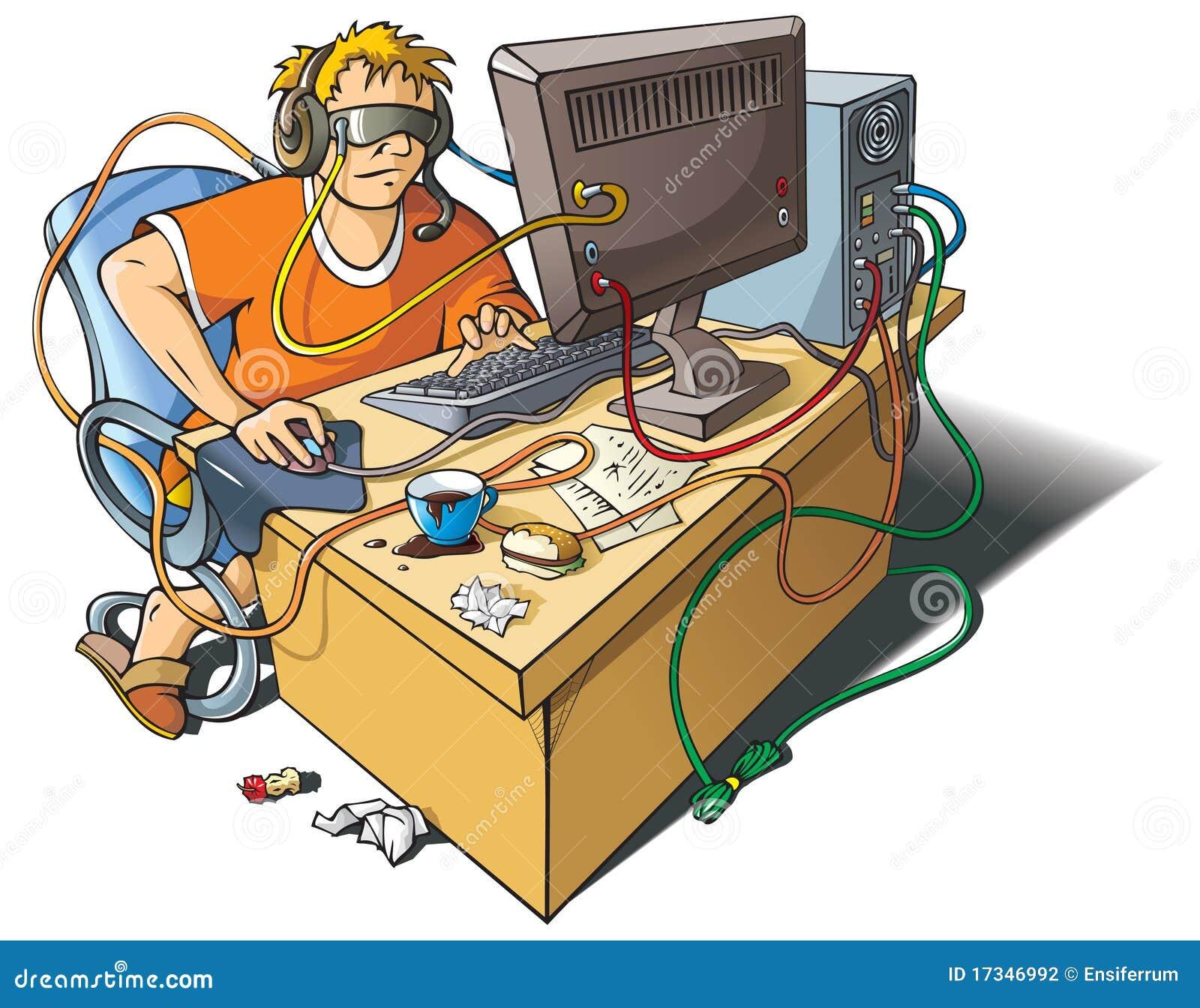 De verslaving van de computer