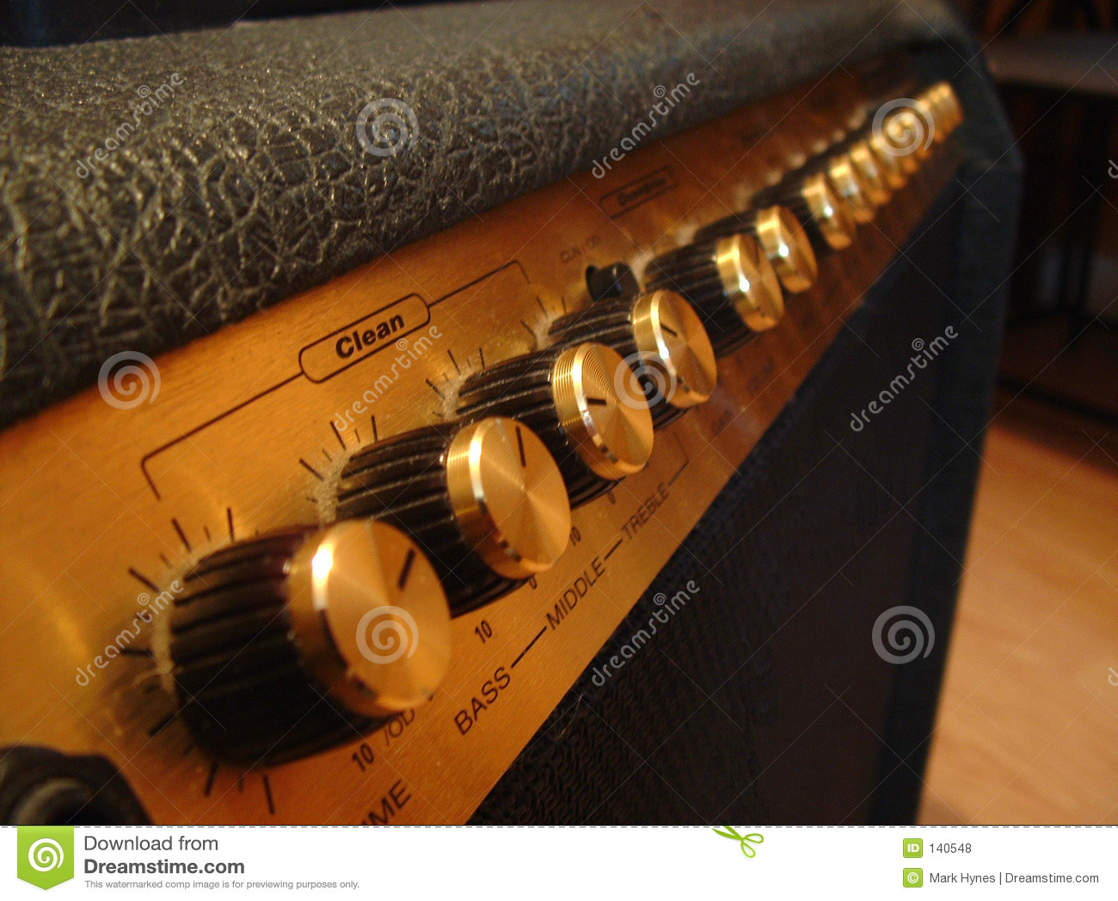 De Versterker van de gitaar