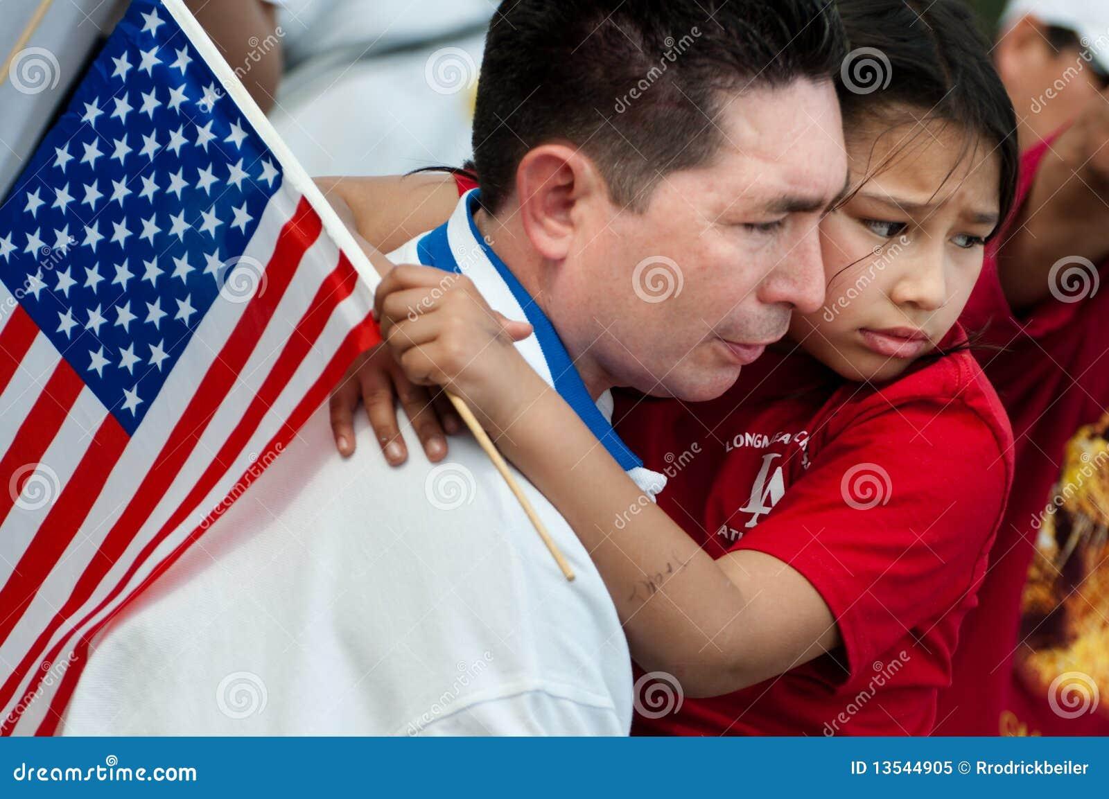 De Verzameling van de immigratie in Washington