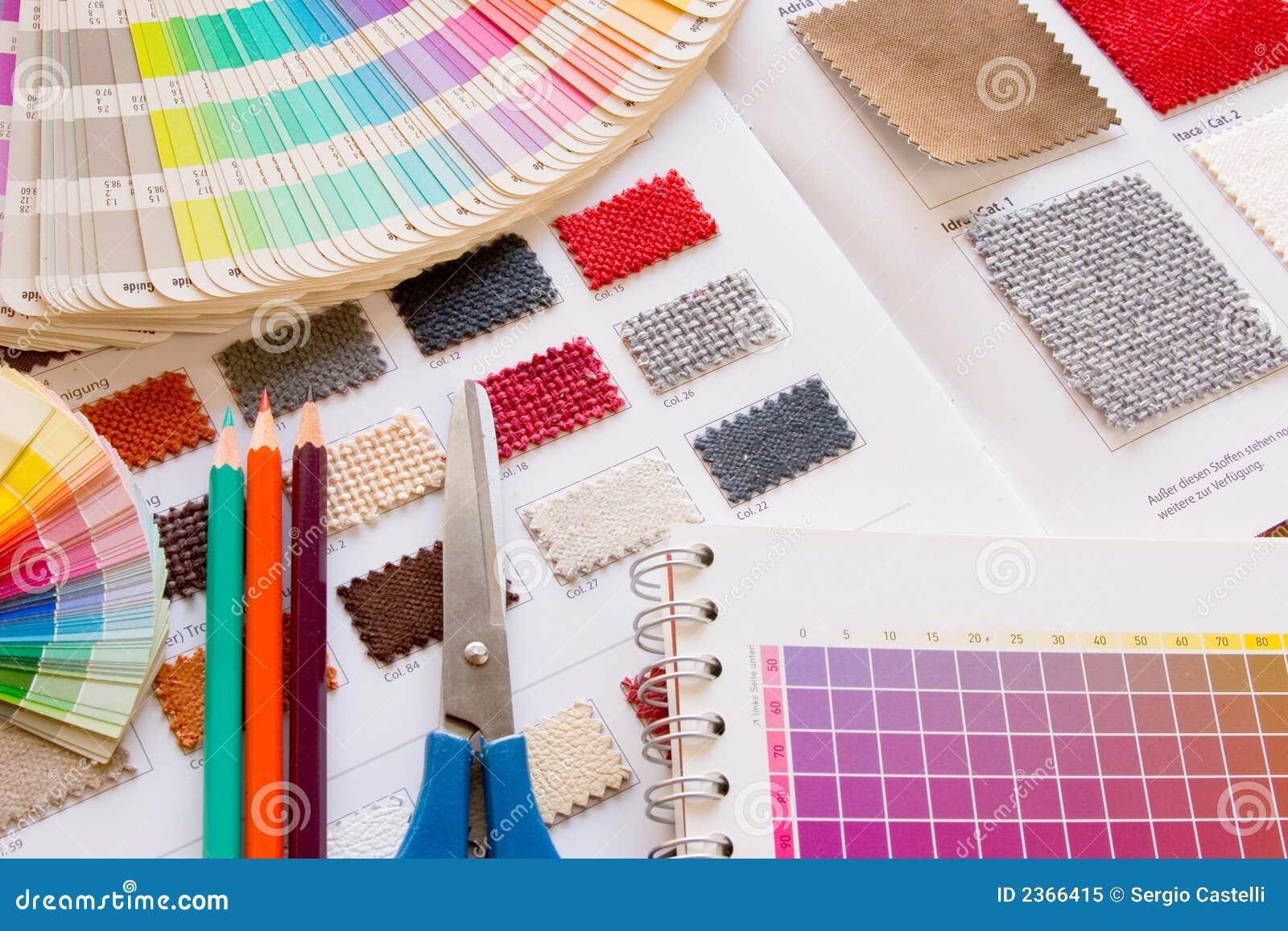 De verzameling van de kleur