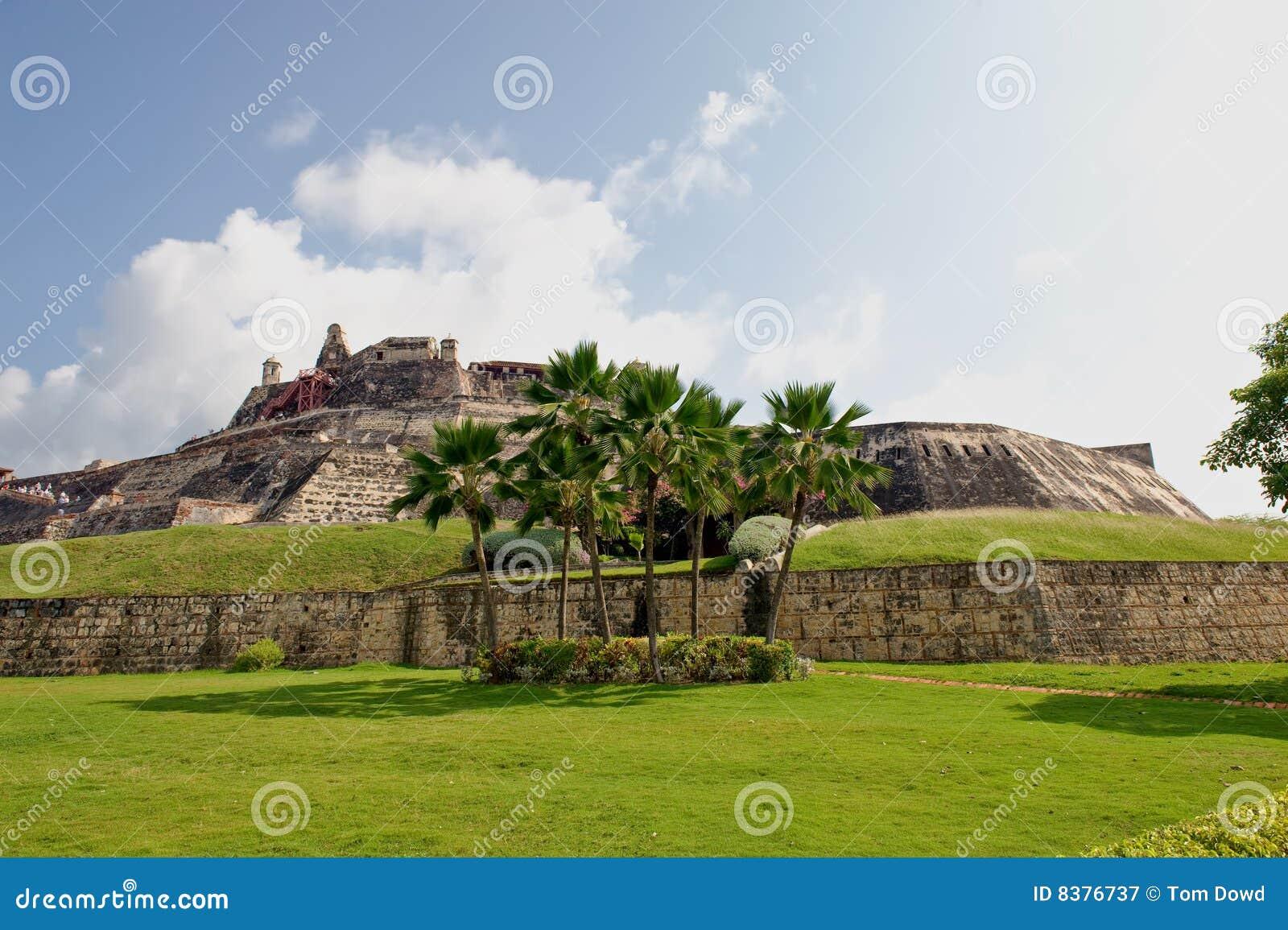 De vesting Colombia van Cartagena