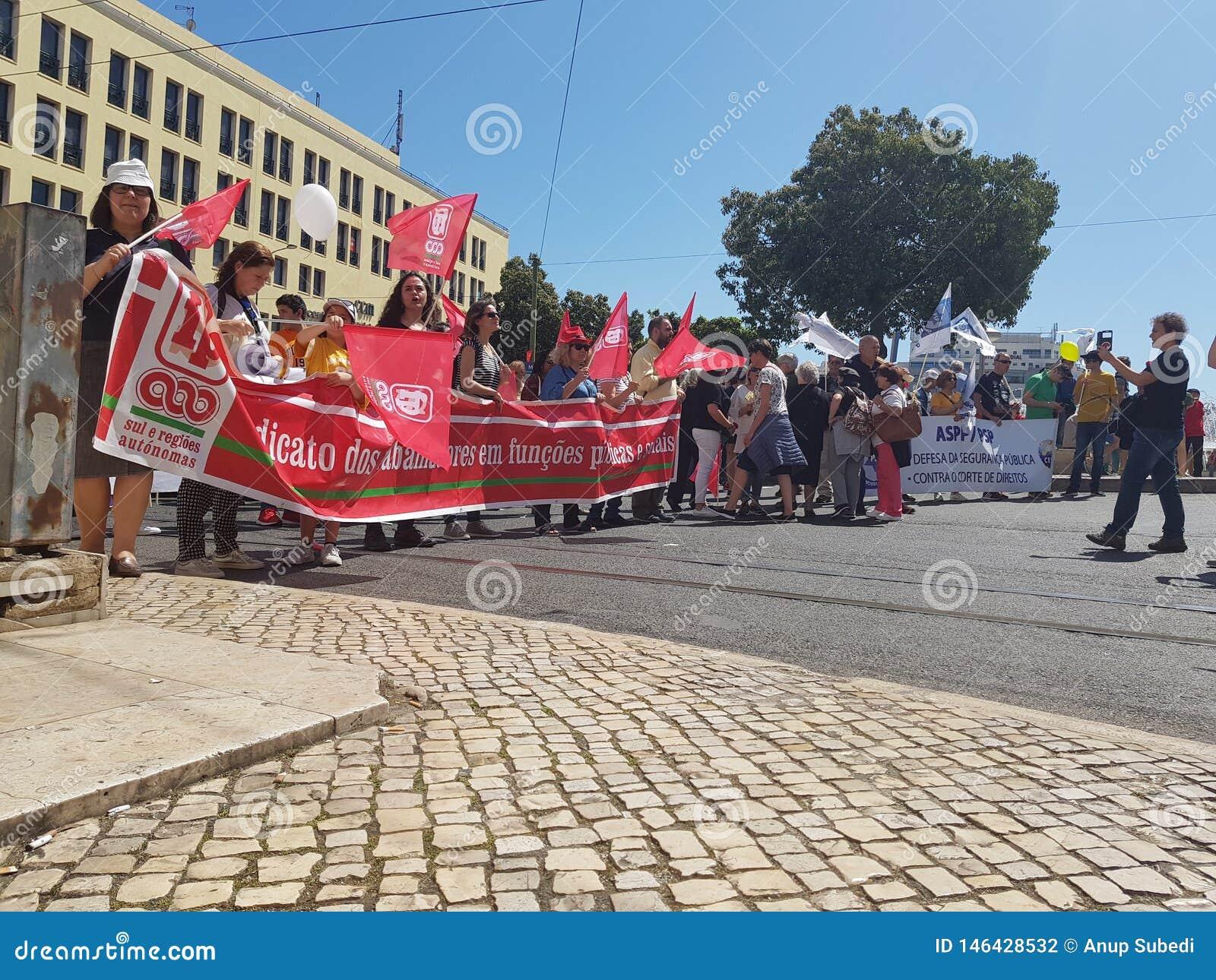 De viering van de arbeidersdag in pracaDE Martin Monize