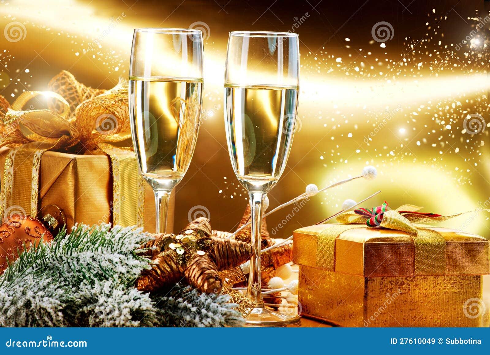 Citaten Kerstmis Nieuwjaar : De viering van het nieuwjaar en kerstmis stock