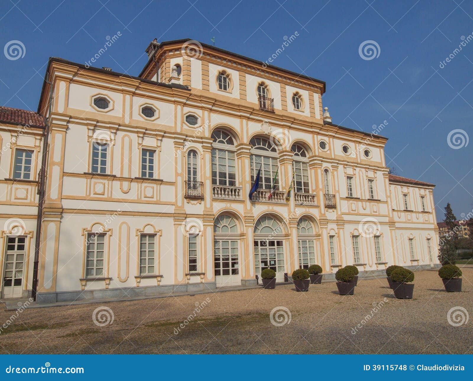 De villa van La Tesoriera in Turijn