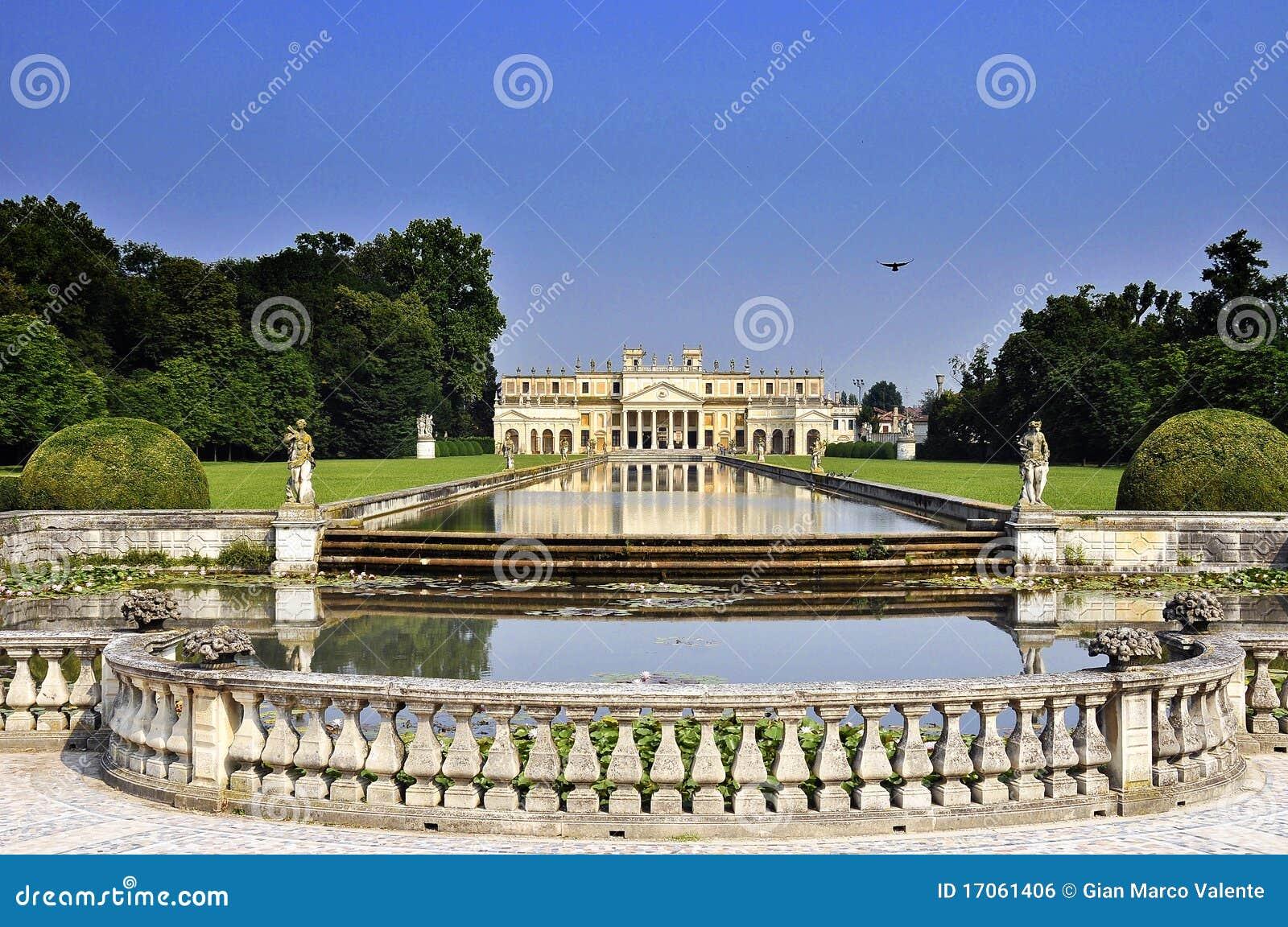 De villa van palladian stock foto afbeelding bestaande uit stuk 17061406 - Decoratie van de villas ...