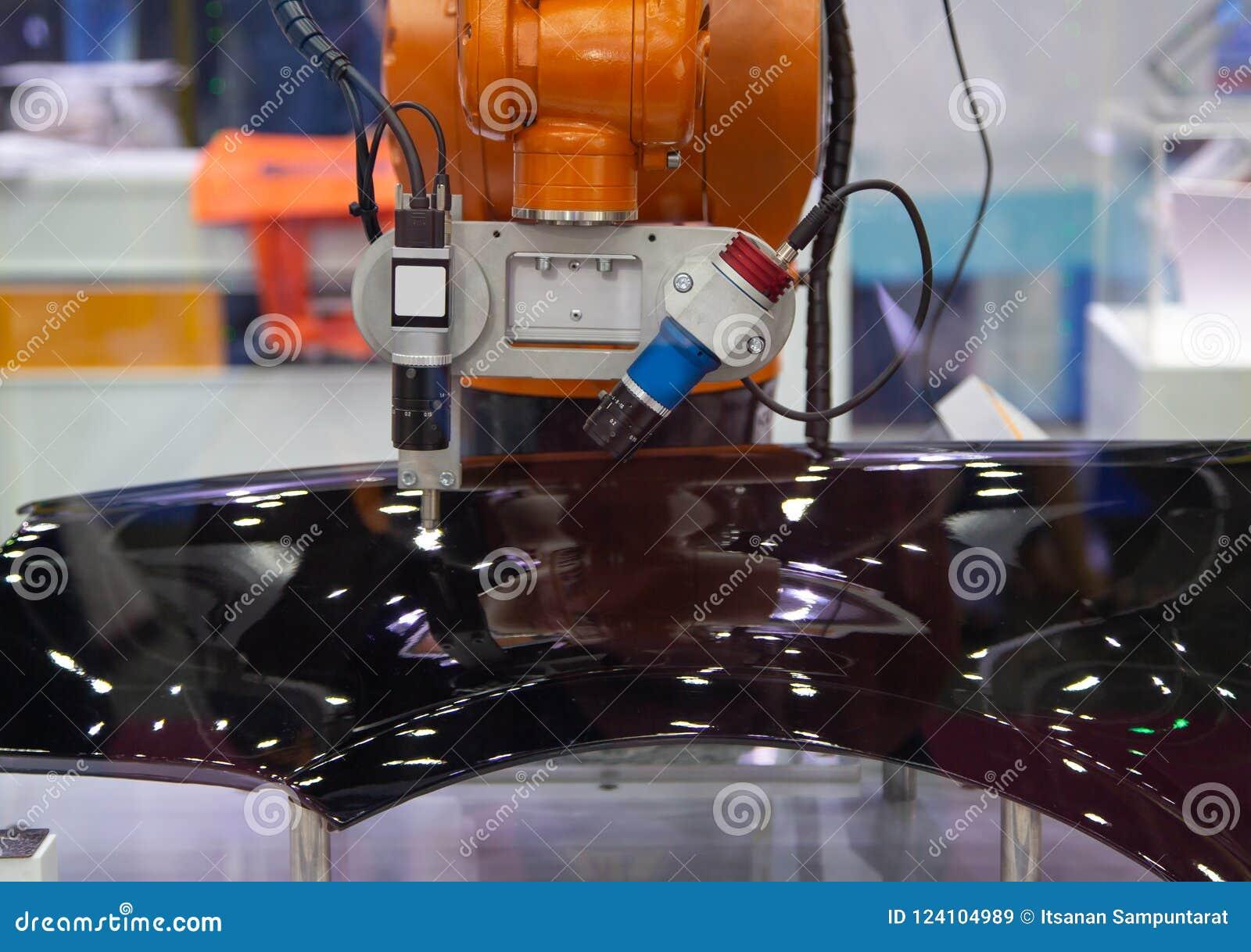 De visieinspectie van het robotwapen