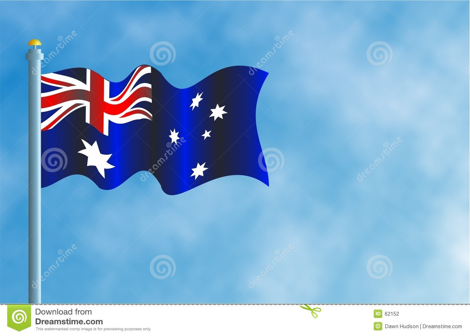 De Vlag van Austrailian