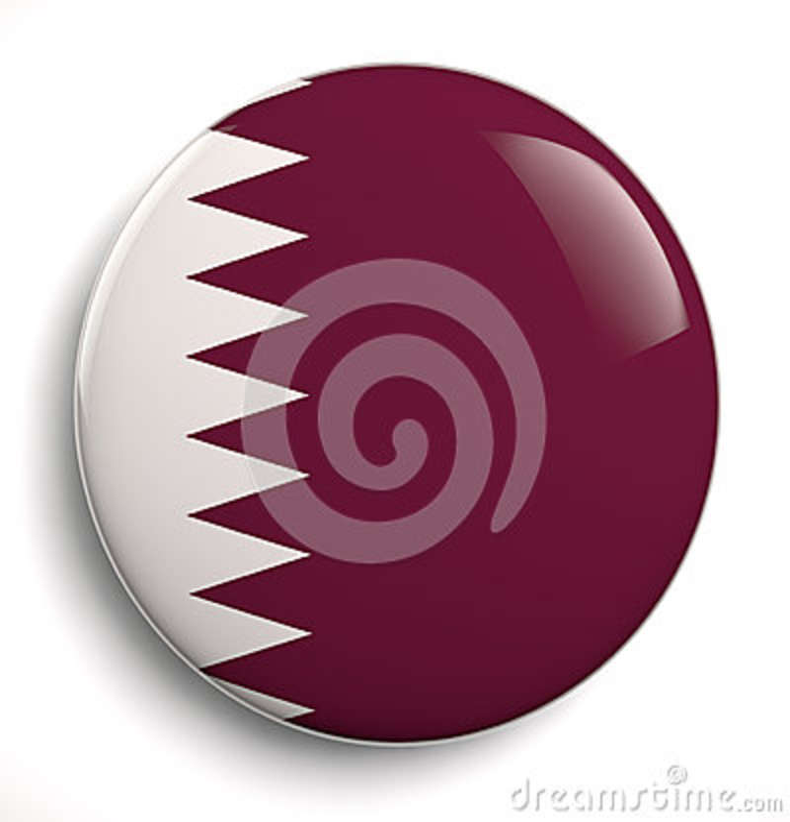 De vlag van Bahrein