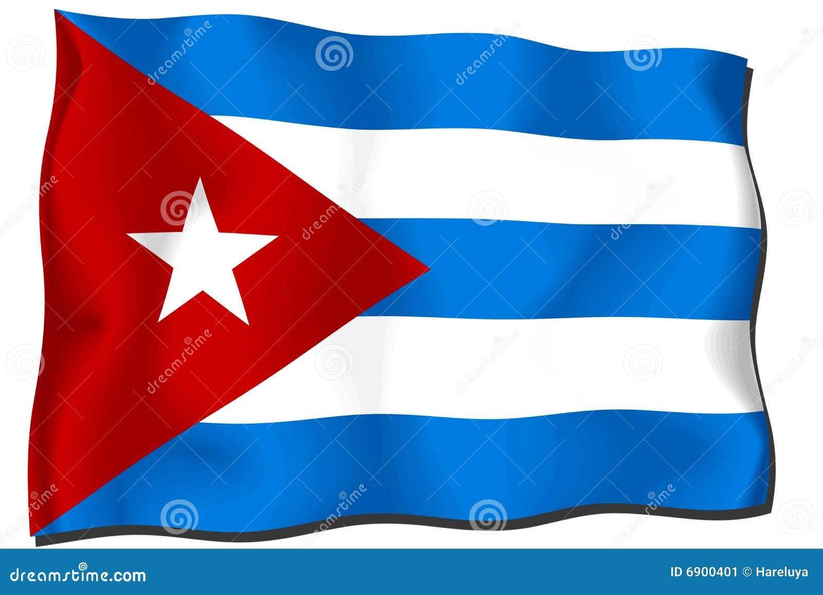 De Vlag van Cuba