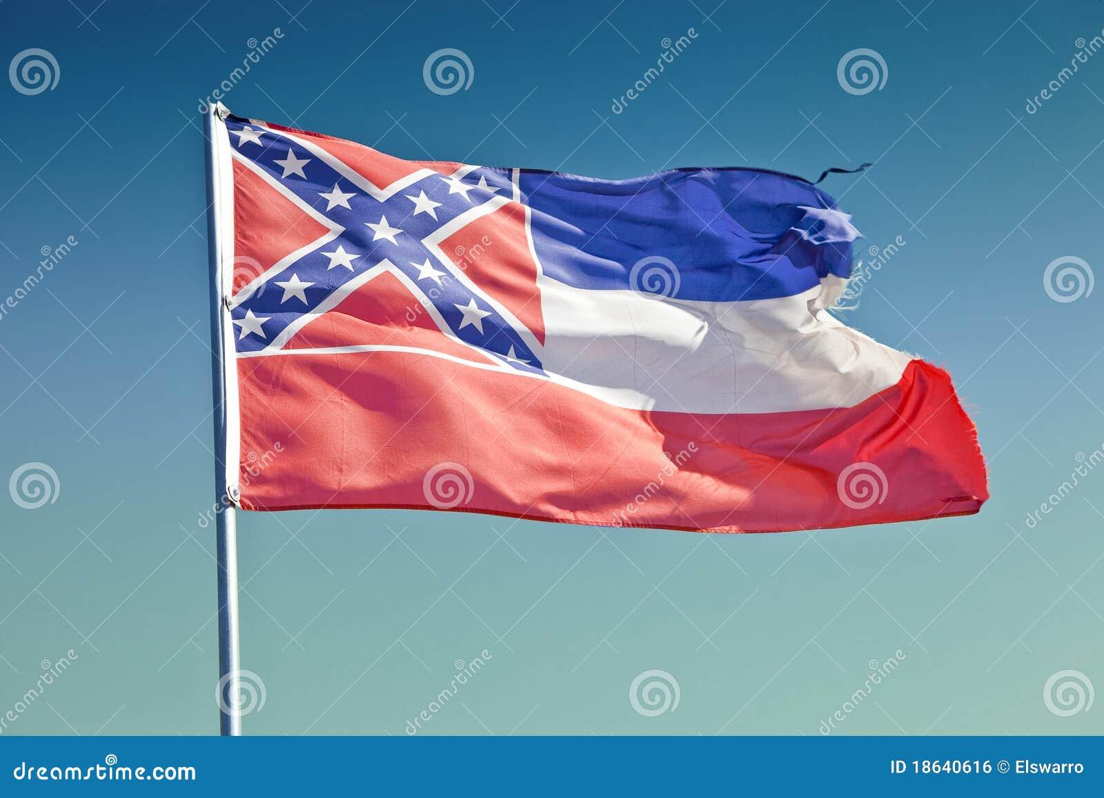De Vlag van de Mississippi