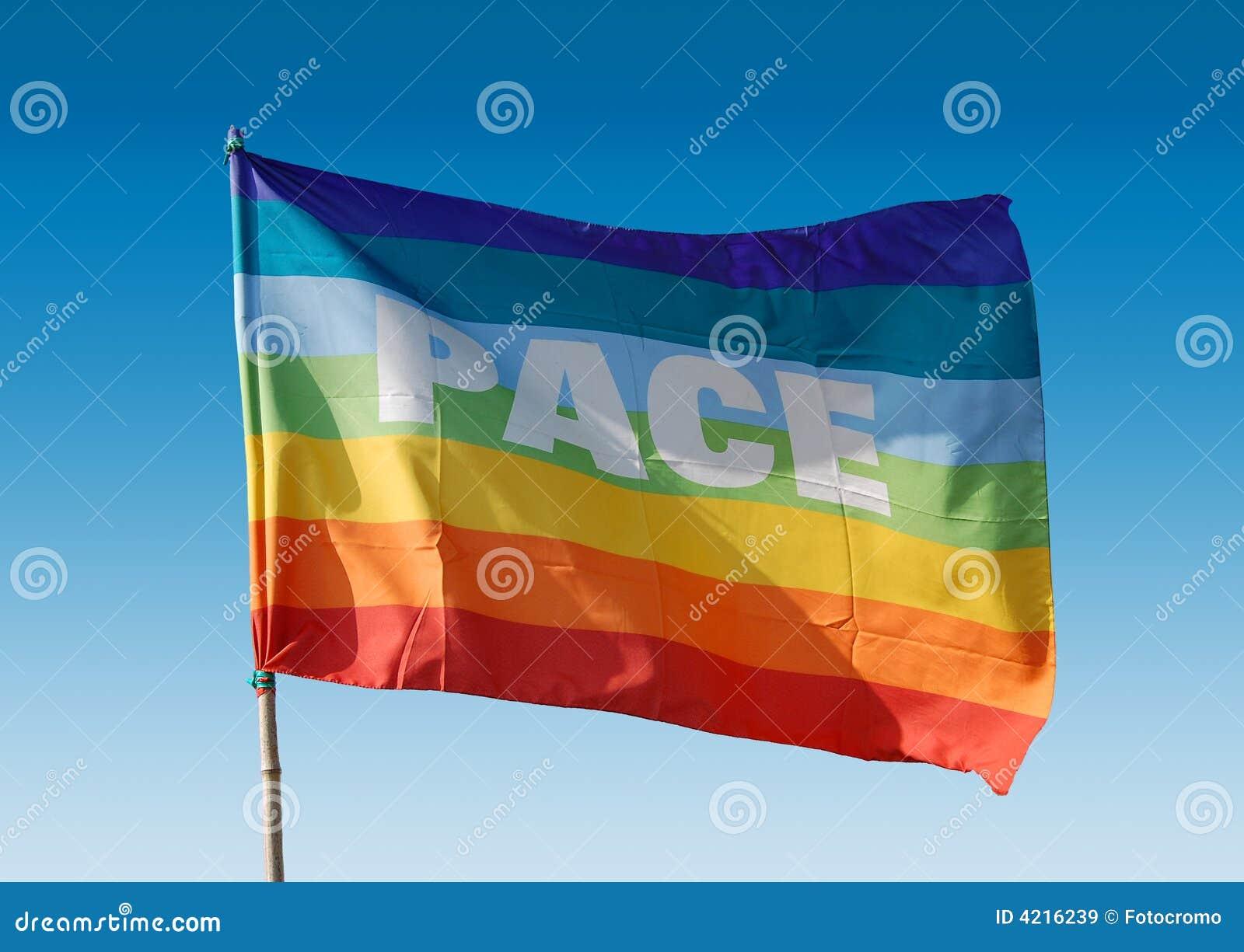 De vlag van de vrede