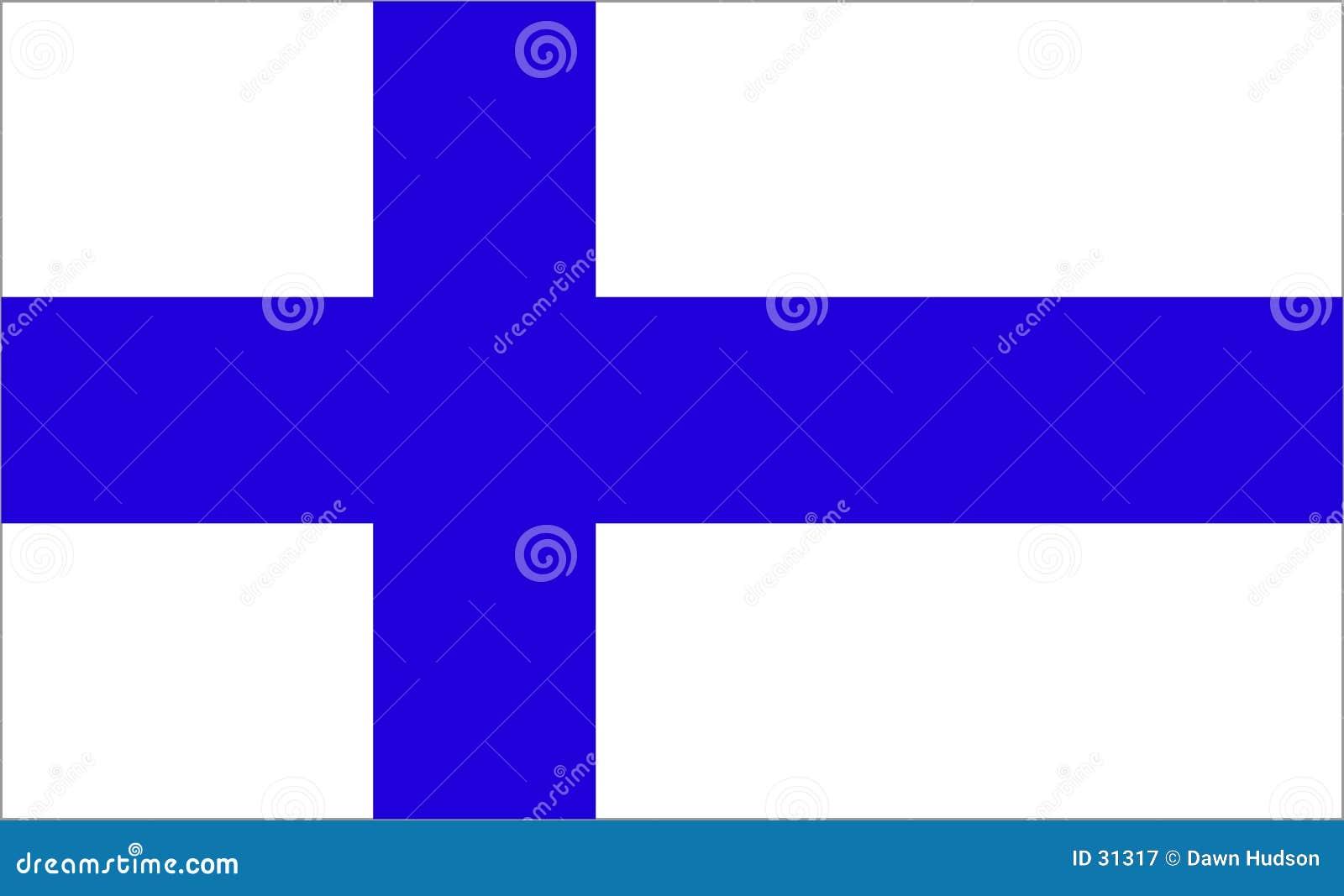 De Vlag van Finland