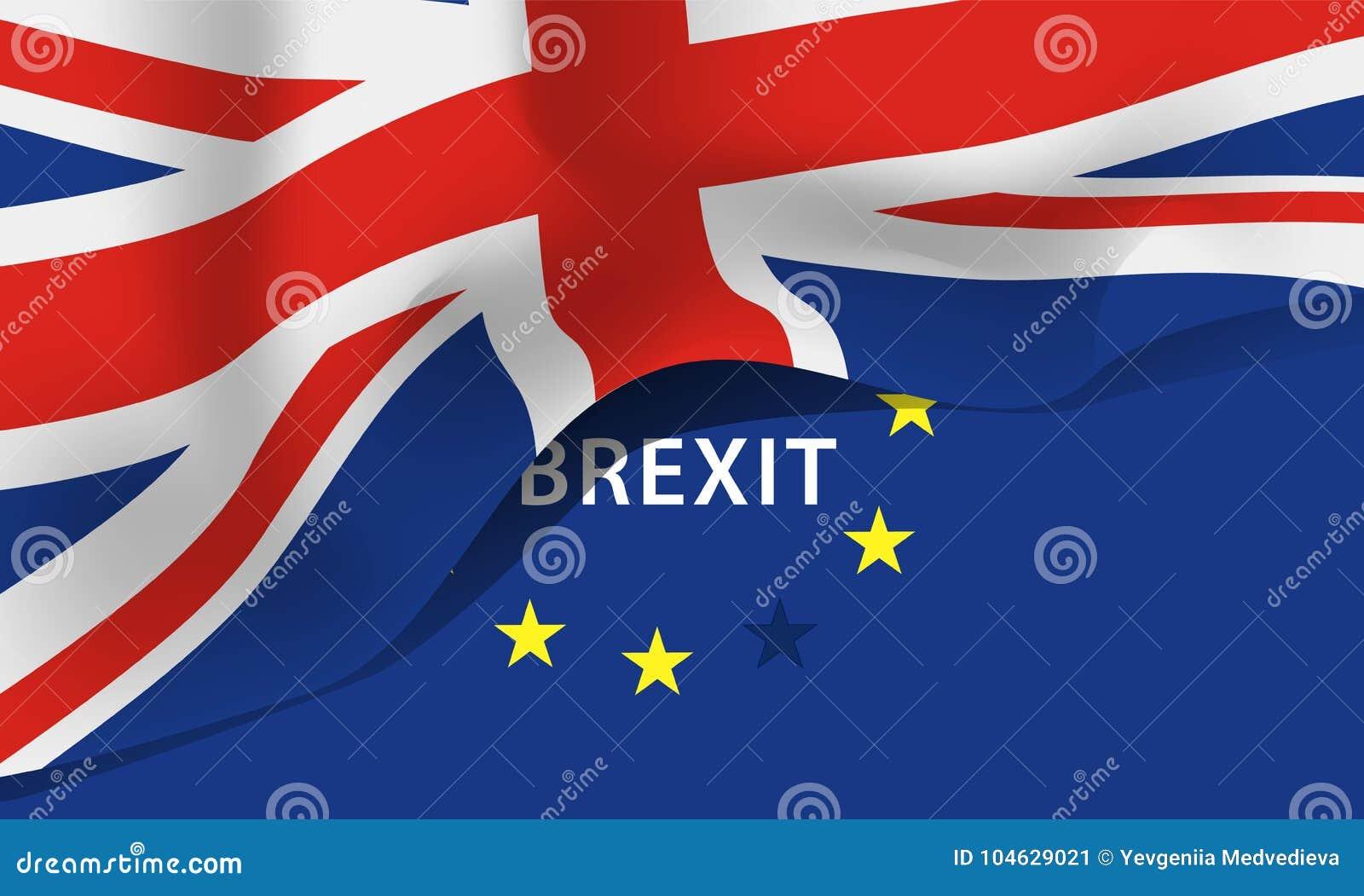 Download De Vlag Van Groot-Brittannië, Het Verenigd Koninkrijk Vector Illustratie - Illustratie bestaande uit koninkrijk, brittannië: 104629021