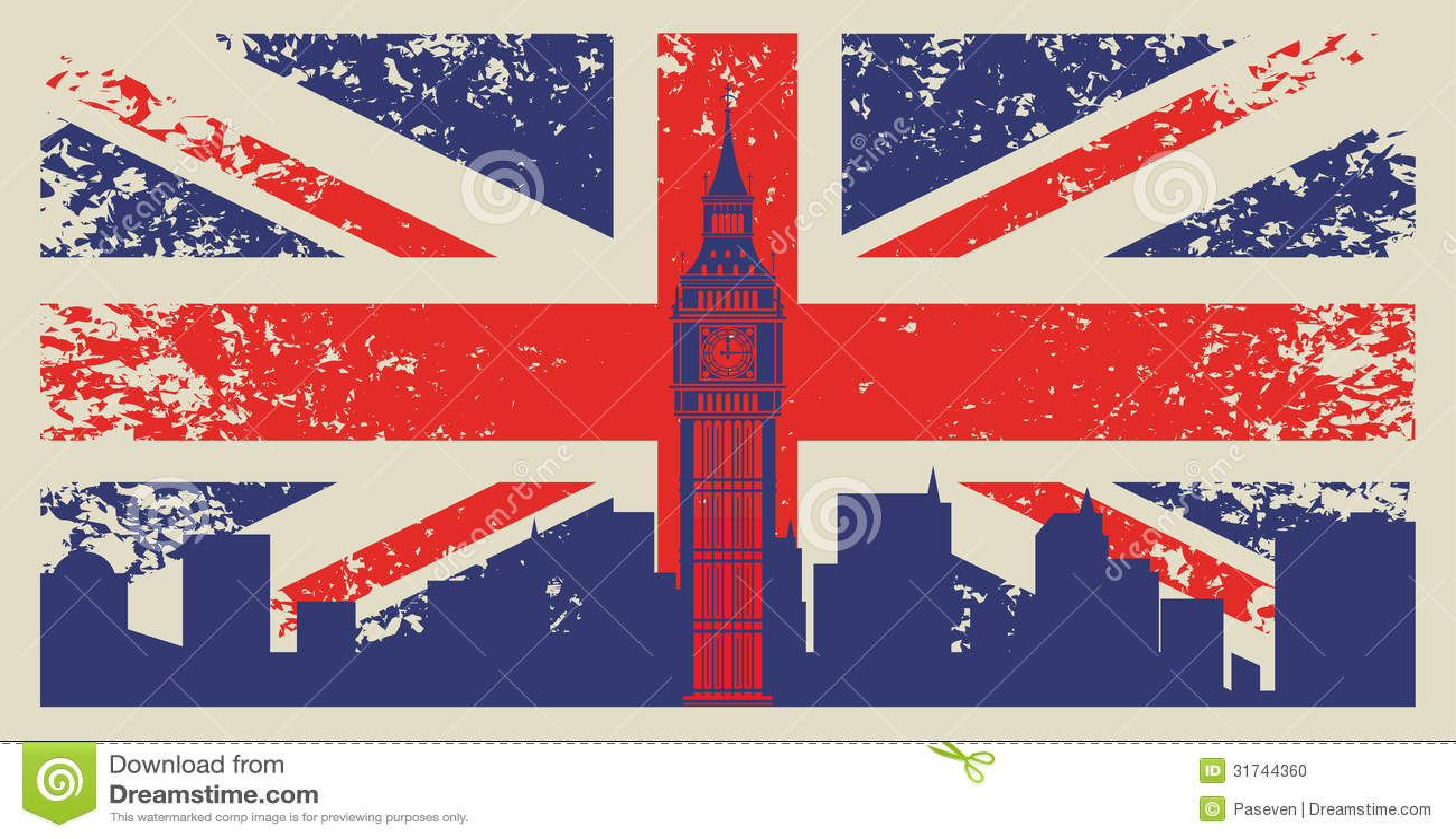 de vlag groot brittanni 235 stock foto afbeelding 31744360