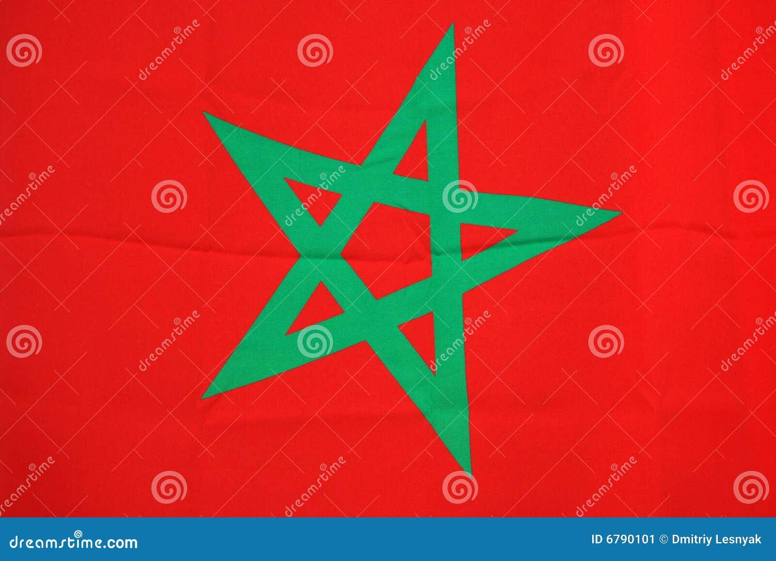 de vlag marokko stock afbeelding afbeelding bestaande