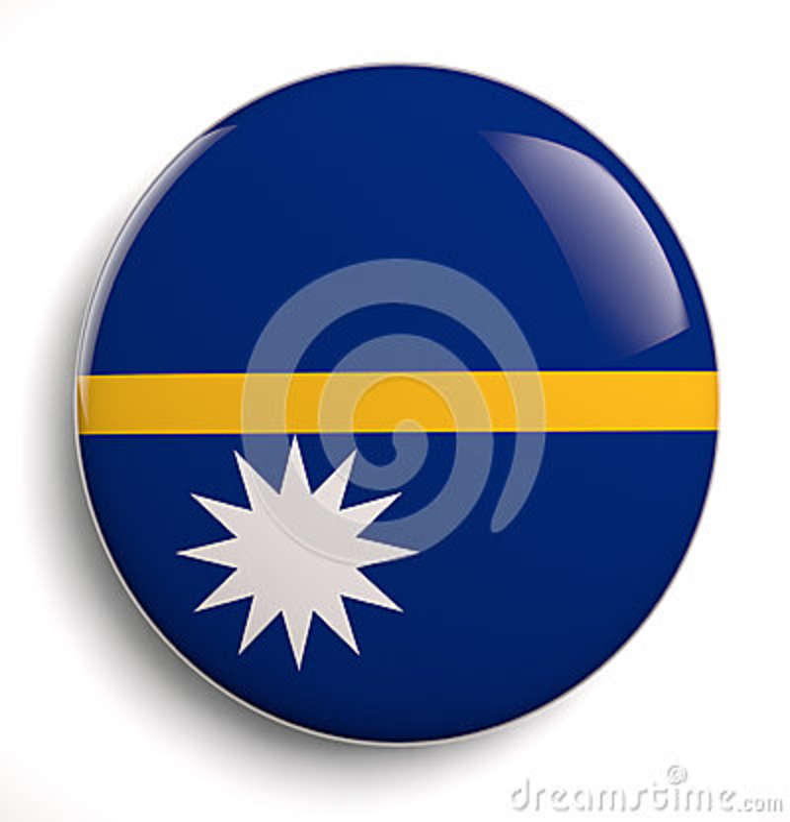 De vlag van Nauru