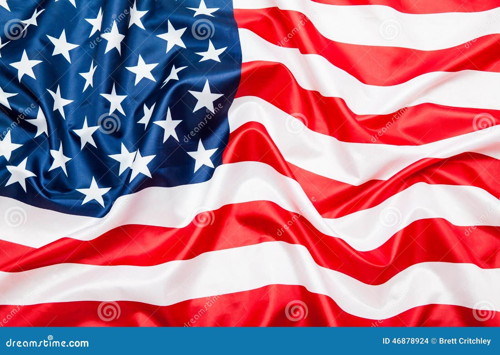 De vlag van Verenigde Staten de V.S.