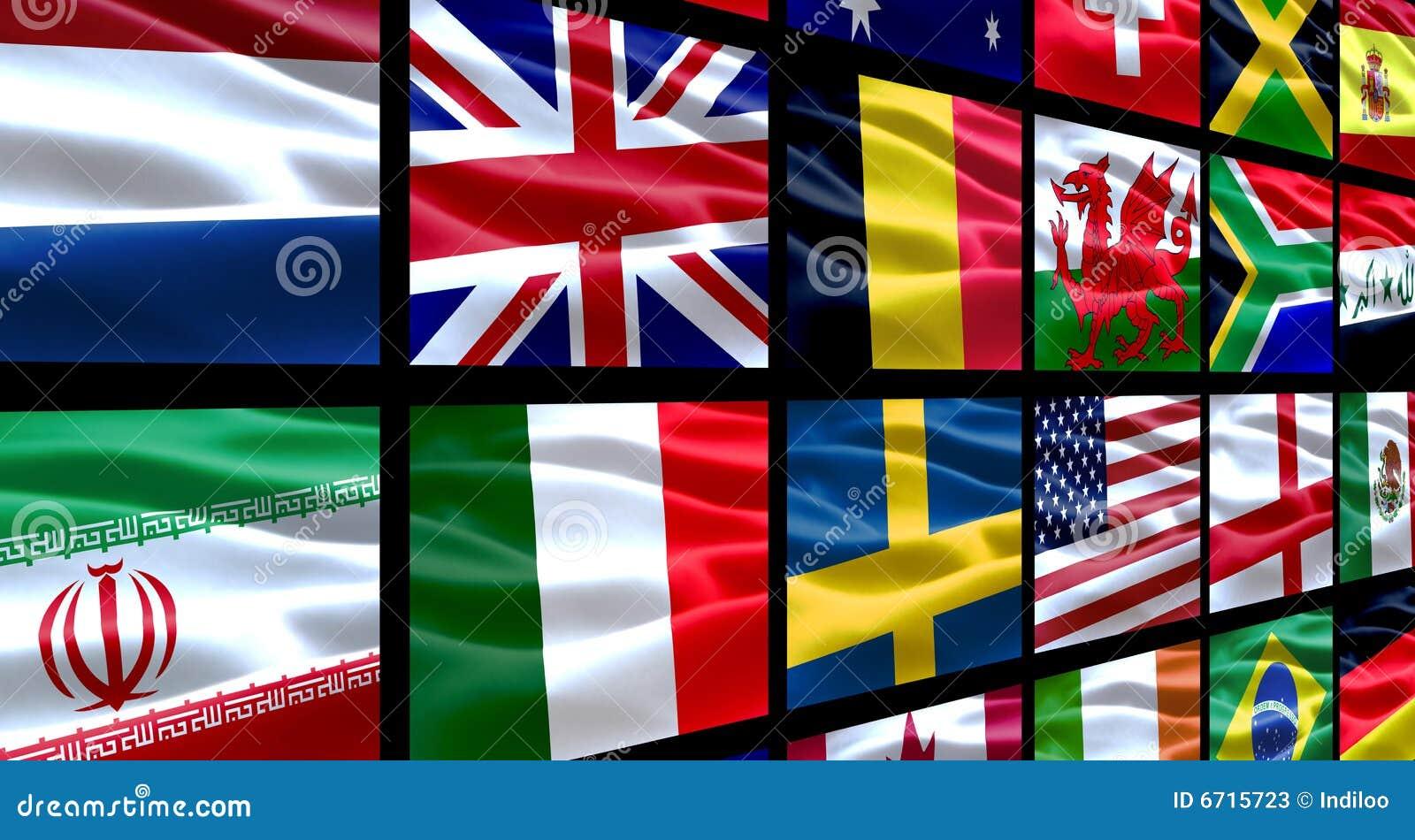 De Vlaggen van de wereld