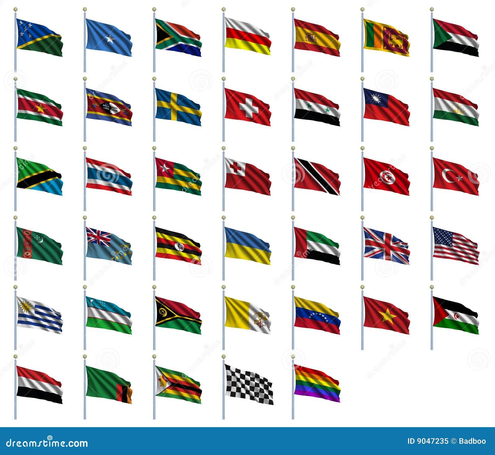 De vlaggen van de wereld plaatsen 4 van 4 royalty vrije stock foto afbeelding 9047235 - Rotan stoel van de wereld ...