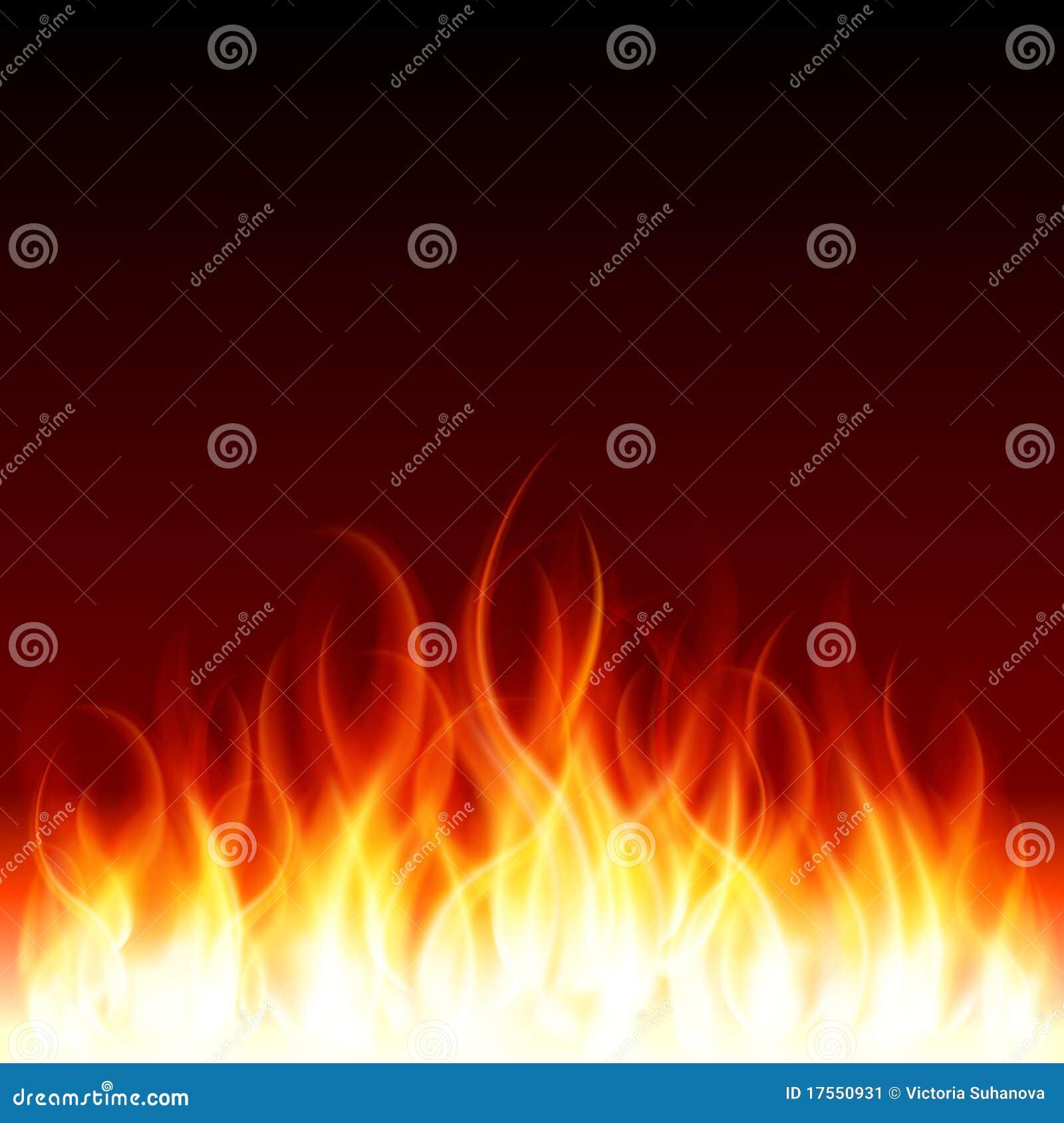 De vlambrand van de brandwond