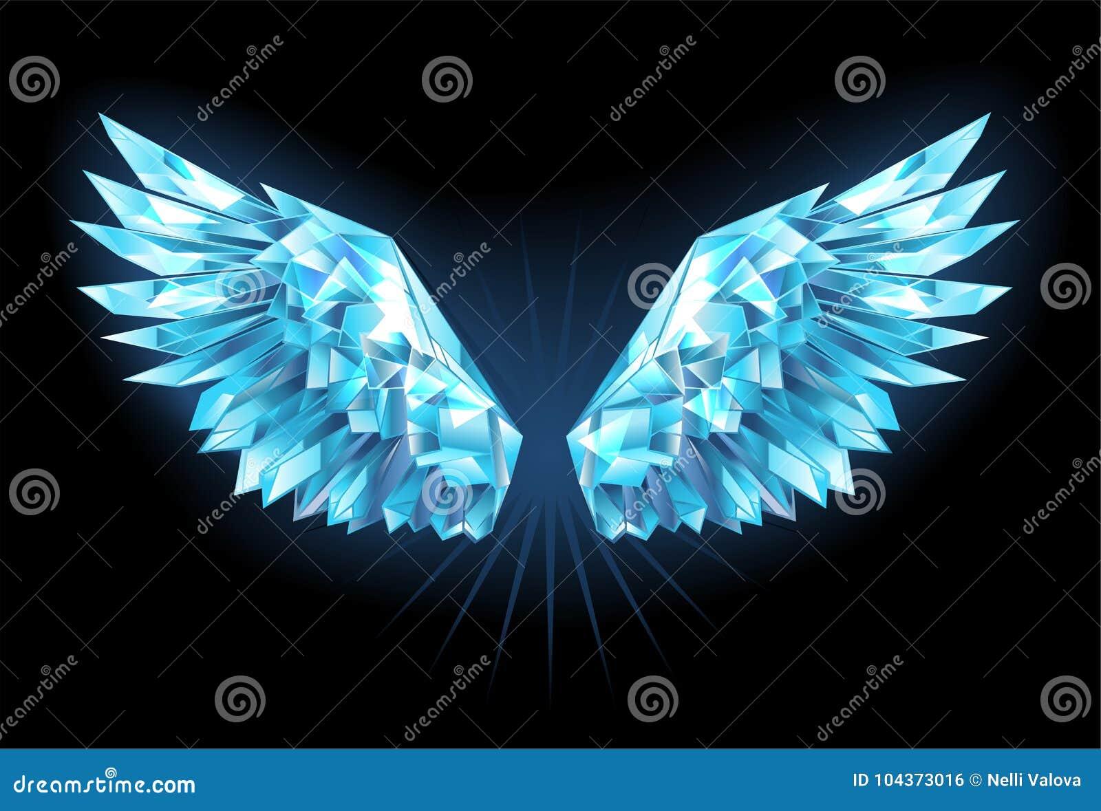 De vleugels van het kristalijs