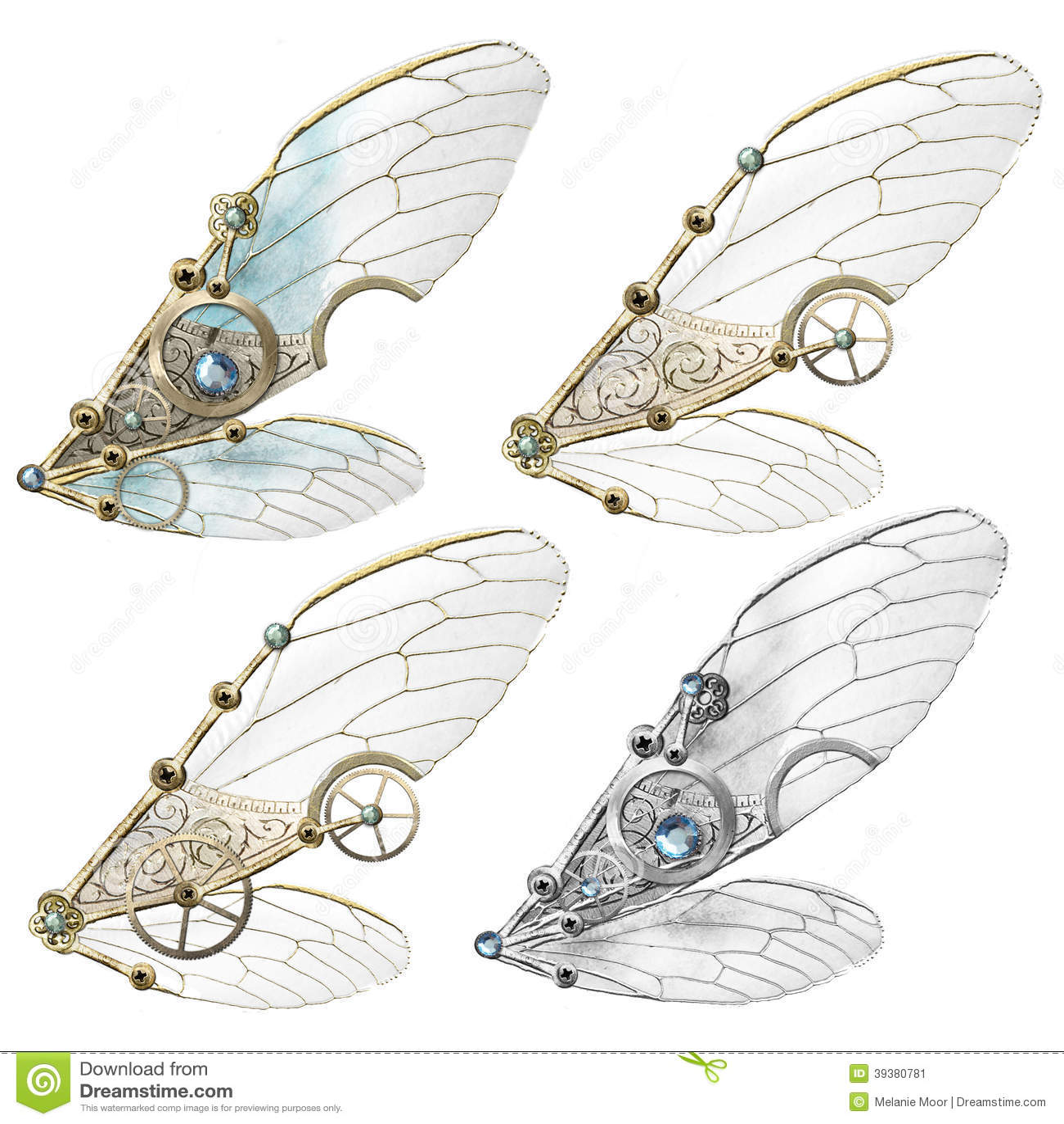 De Vleugels van Steampunkfaerie