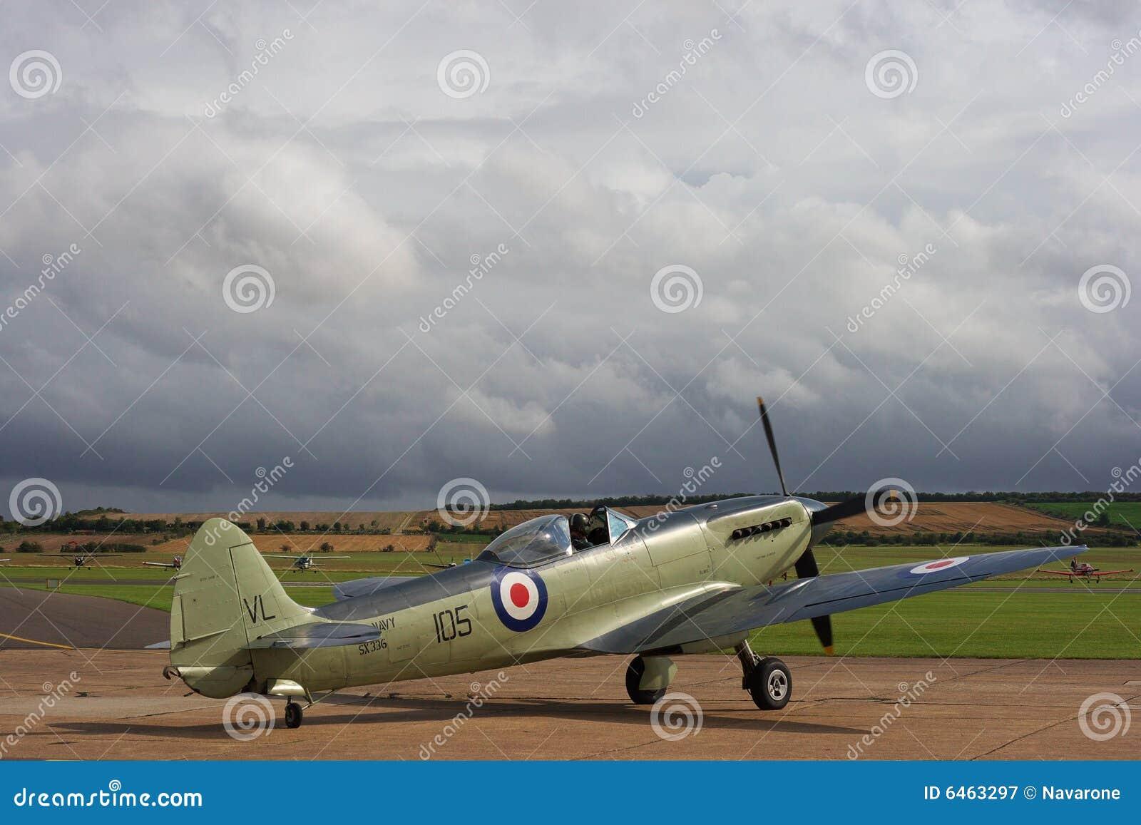 De vliegtuigen van Seafire van Supermarine