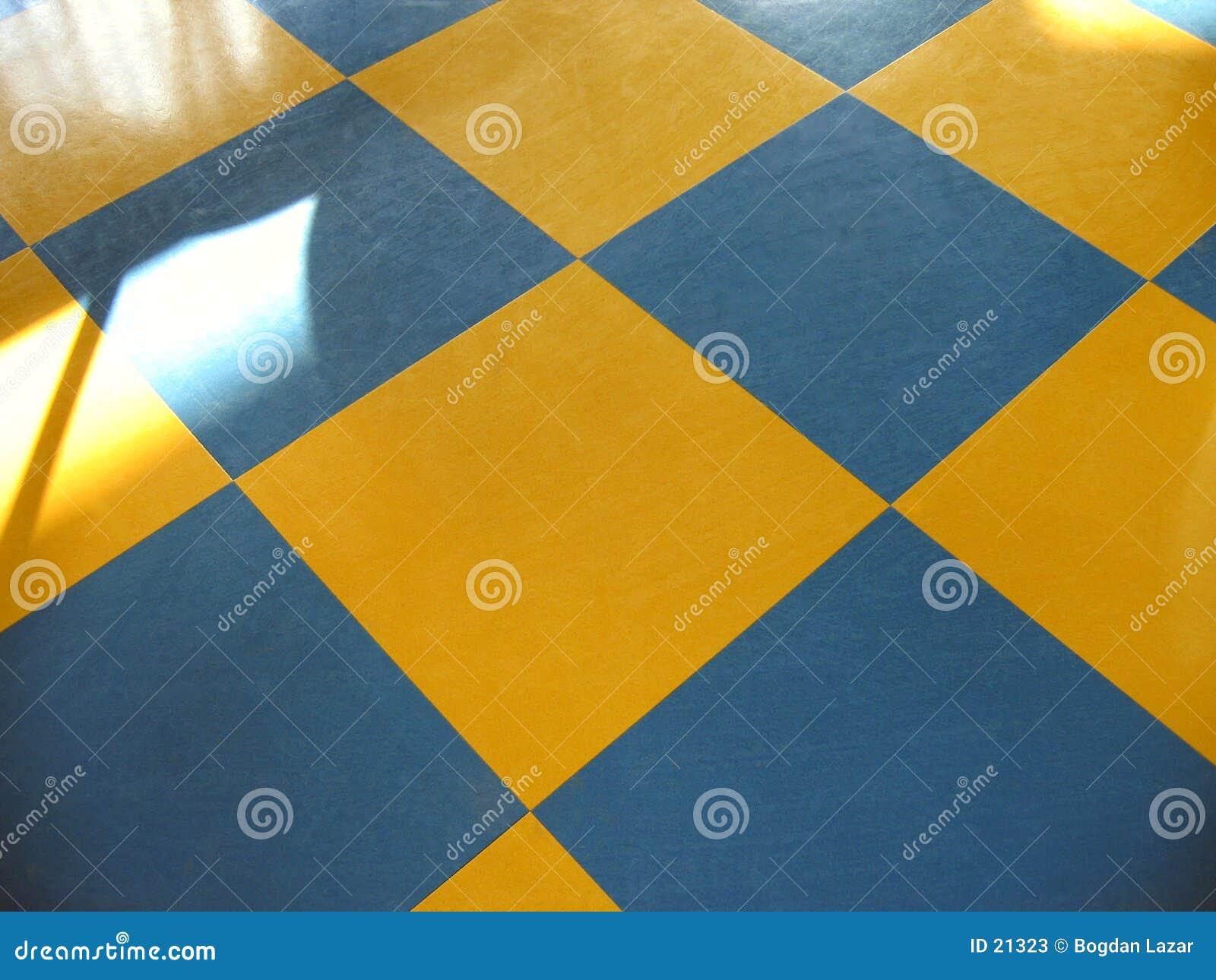 De vloer van het schaak