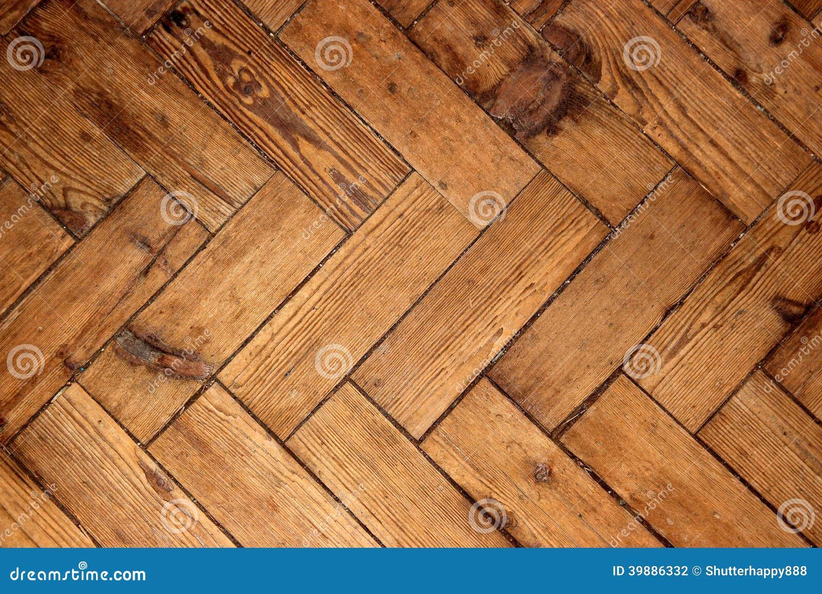 De vloer van het visgraat eiken hout