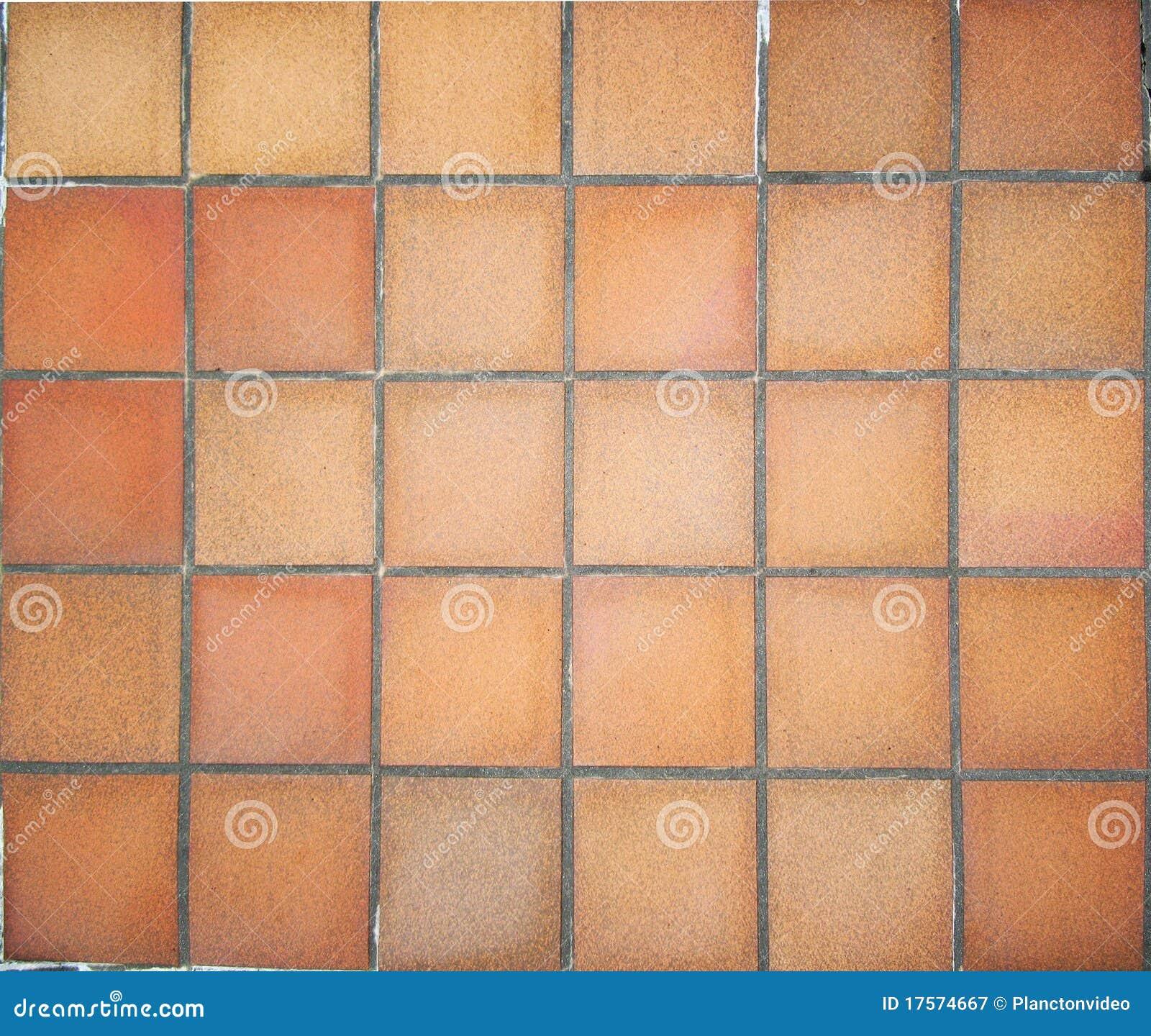 De Vloertegels Van Het Terracotta Royalty vrije Stock Fotografie   Afbeelding  17574667