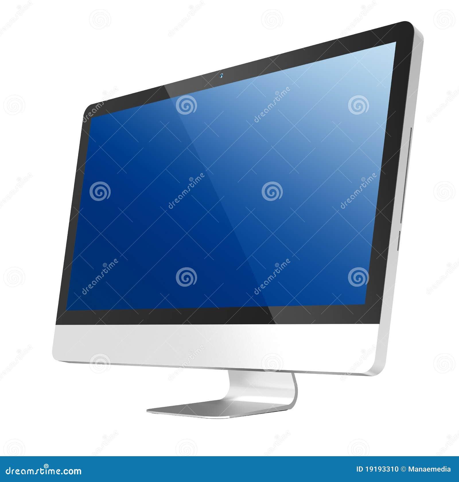 De vlotte Computer van PC van de Monitor alle-in-