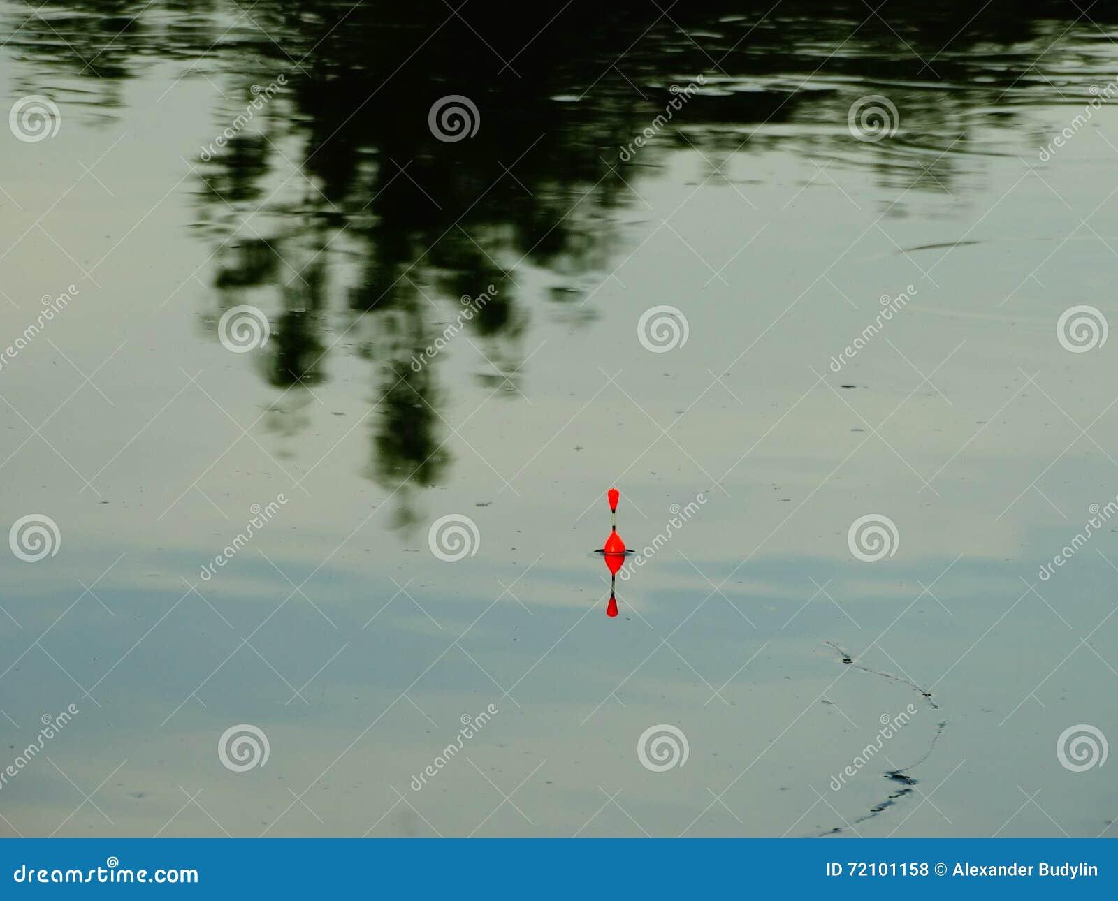 De vlotter op water