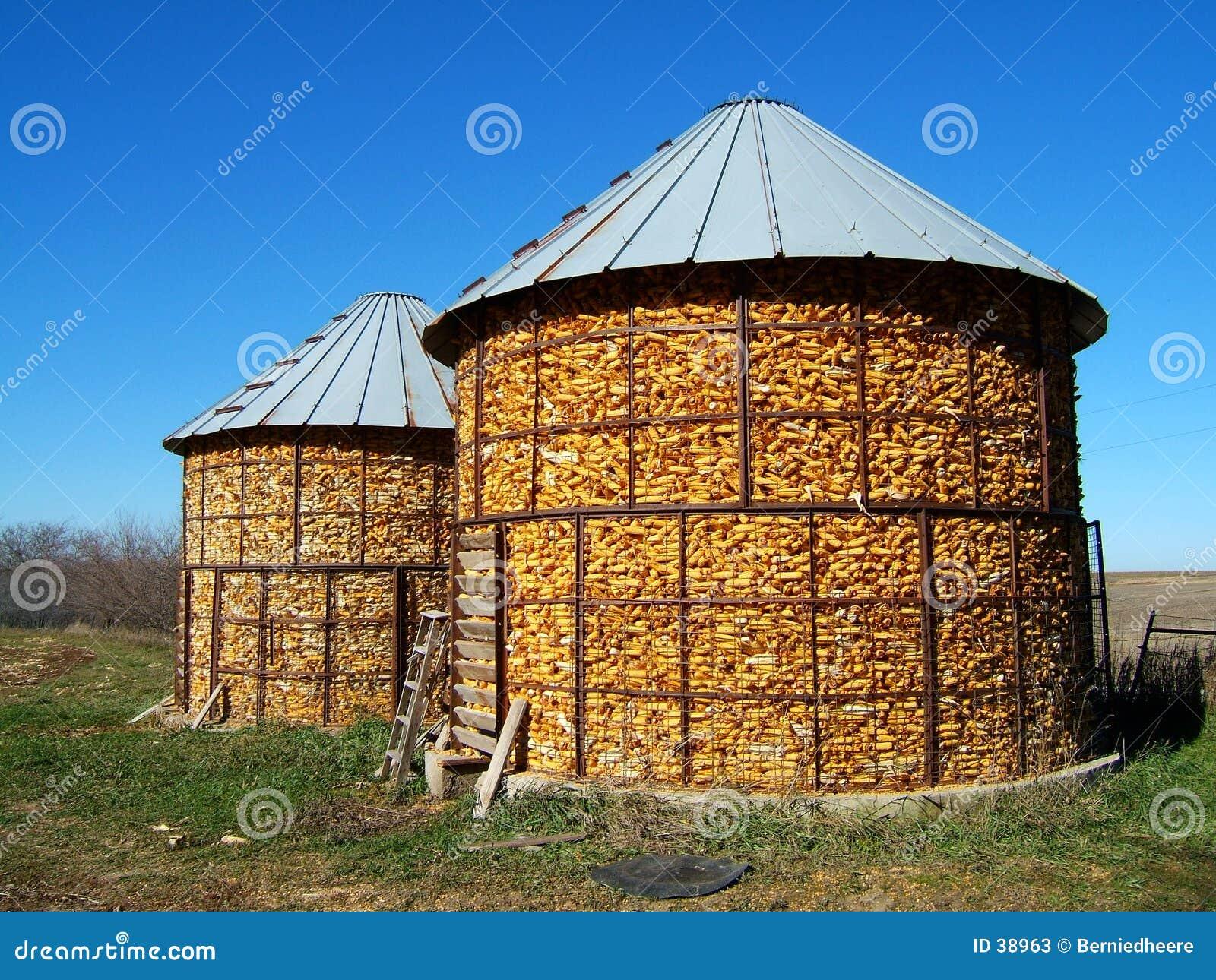 De Voederbakken van het graan