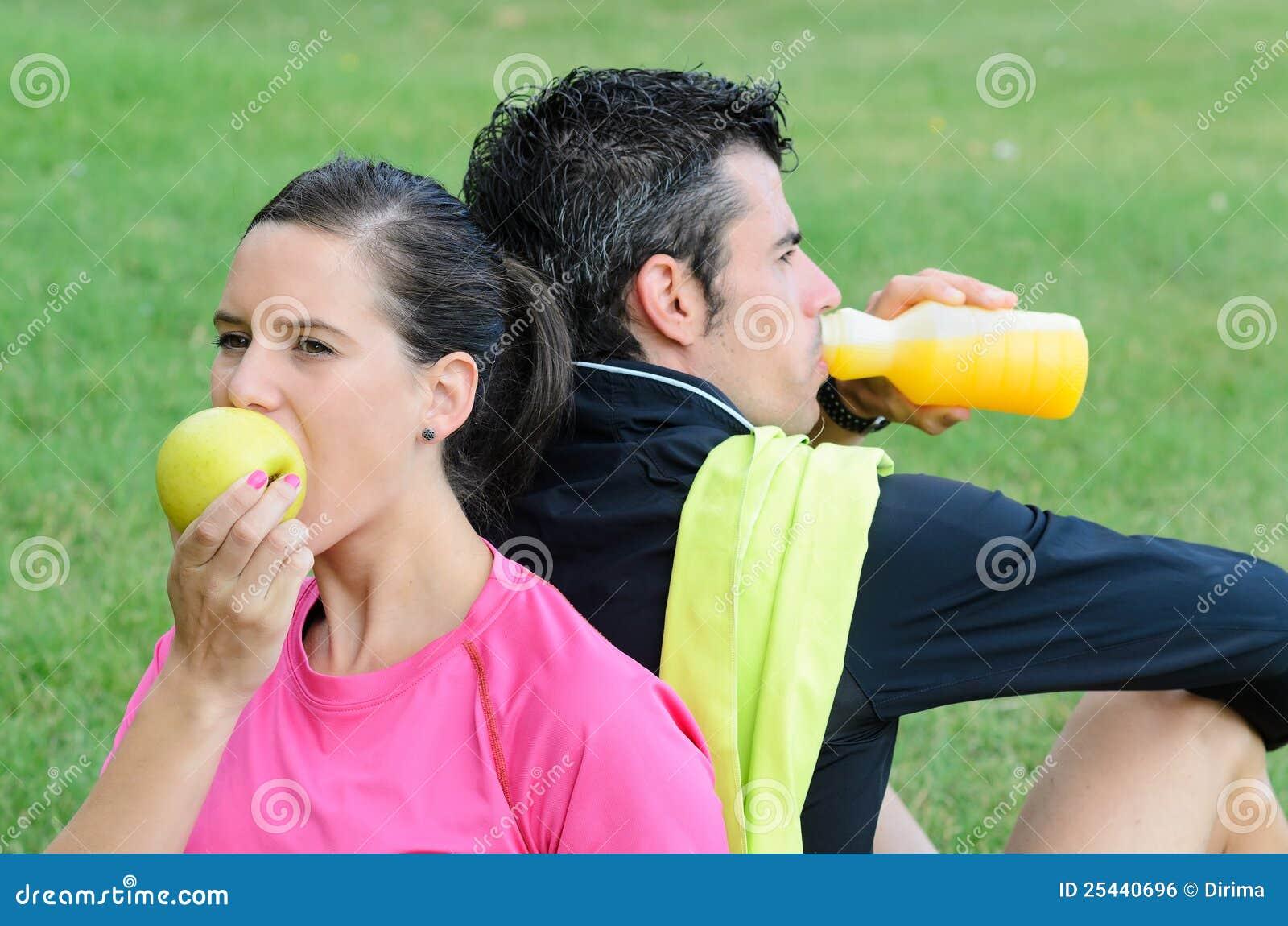 De Voeding van atleten