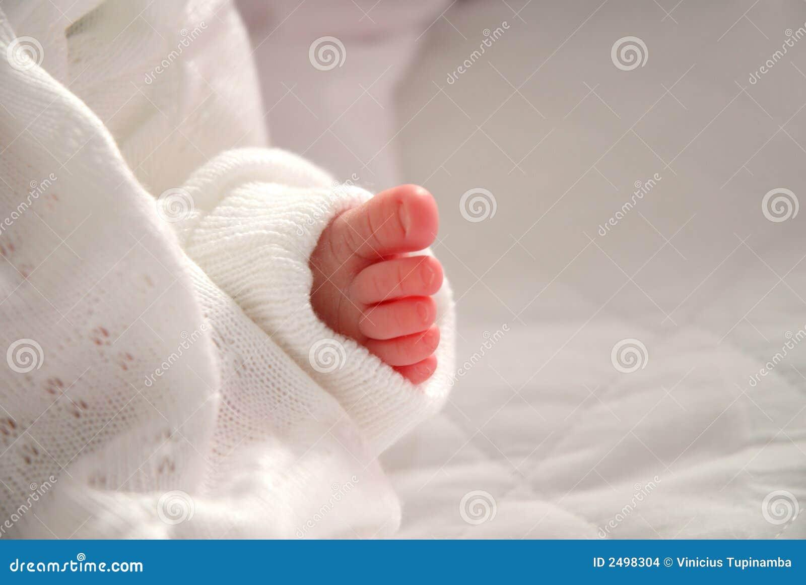 De voet van de baby stock afbeeldingen afbeelding 2498304 - Baby voet verkoop ...