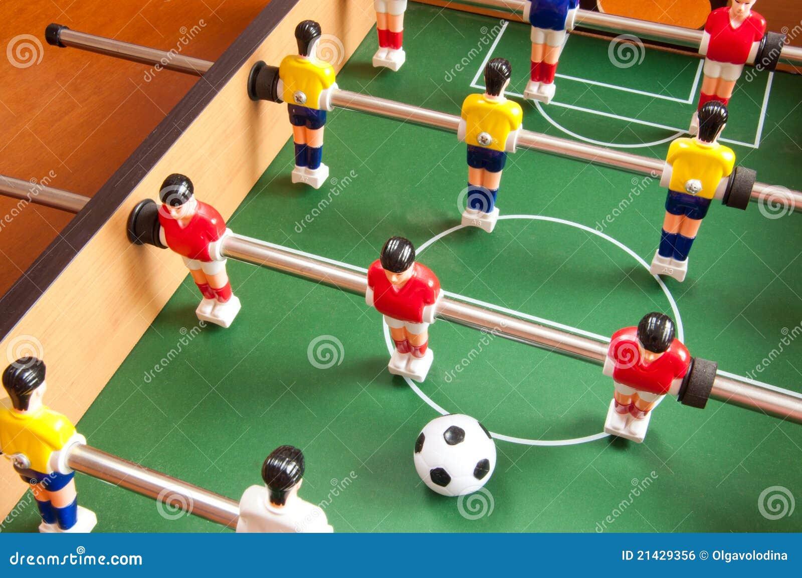 De voetbal van de lijst