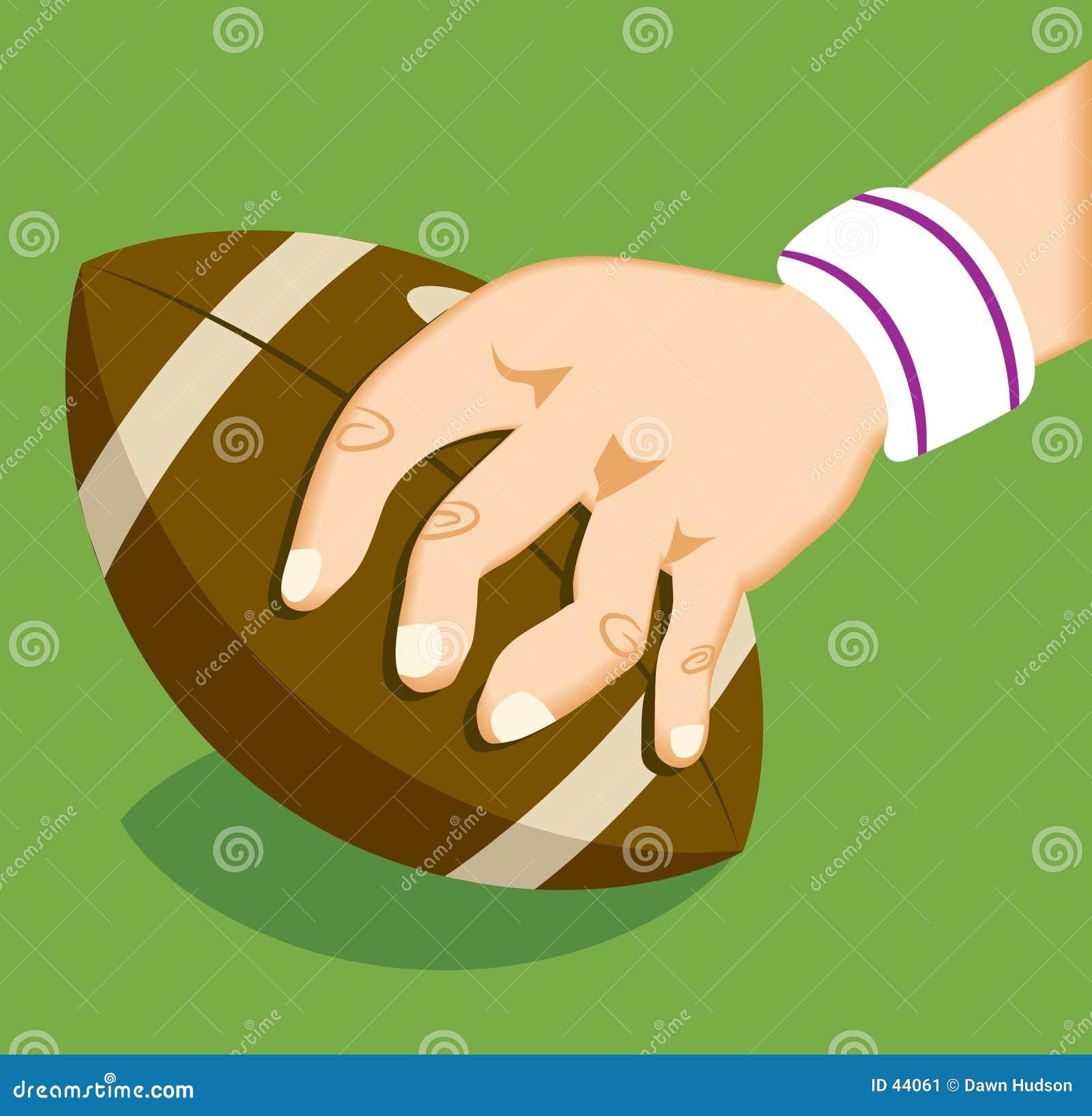 De Voetbal van het rugby