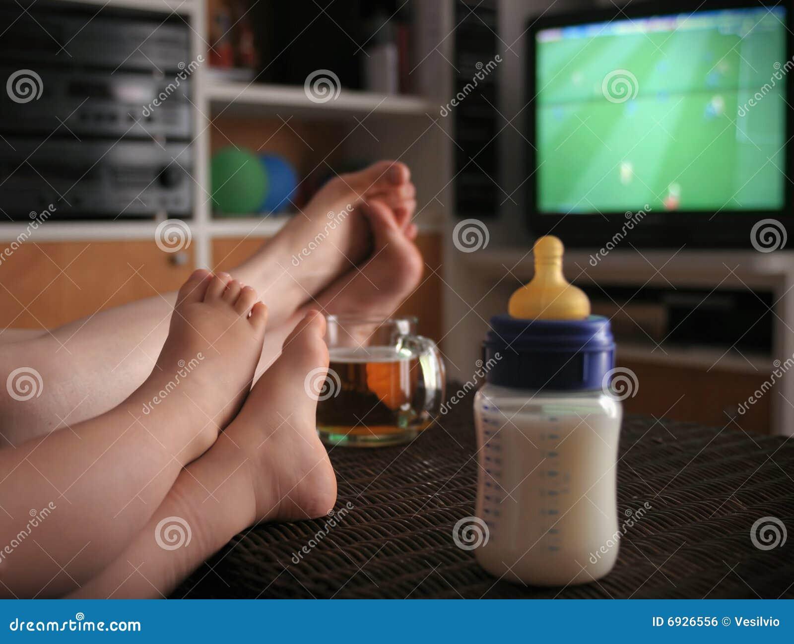 De voetbalventilator van de baby