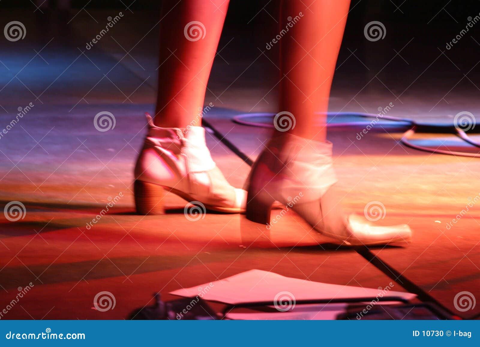 De voeten van zangers